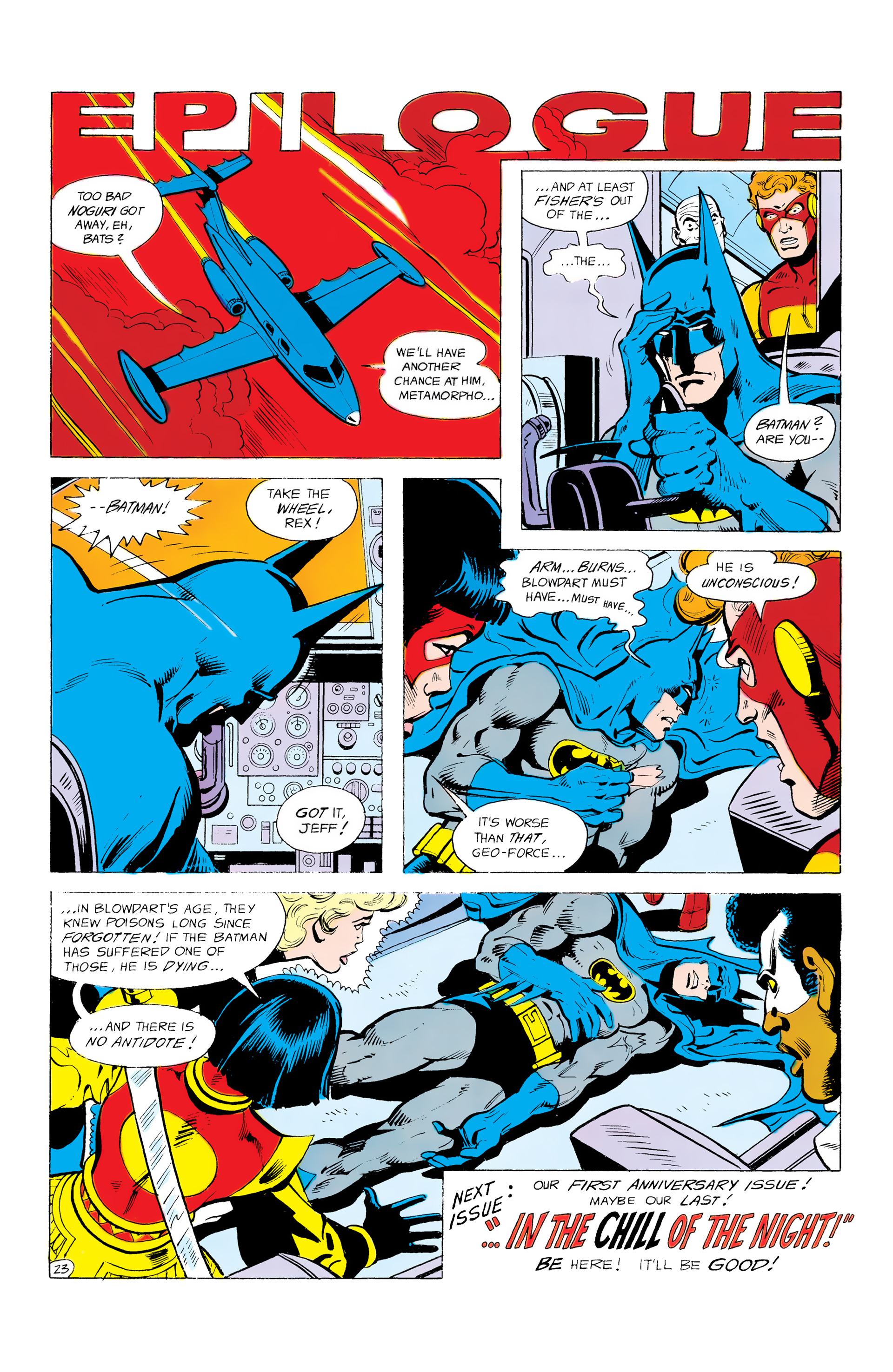 Batman and the Outsiders (1983) 12 Page 23