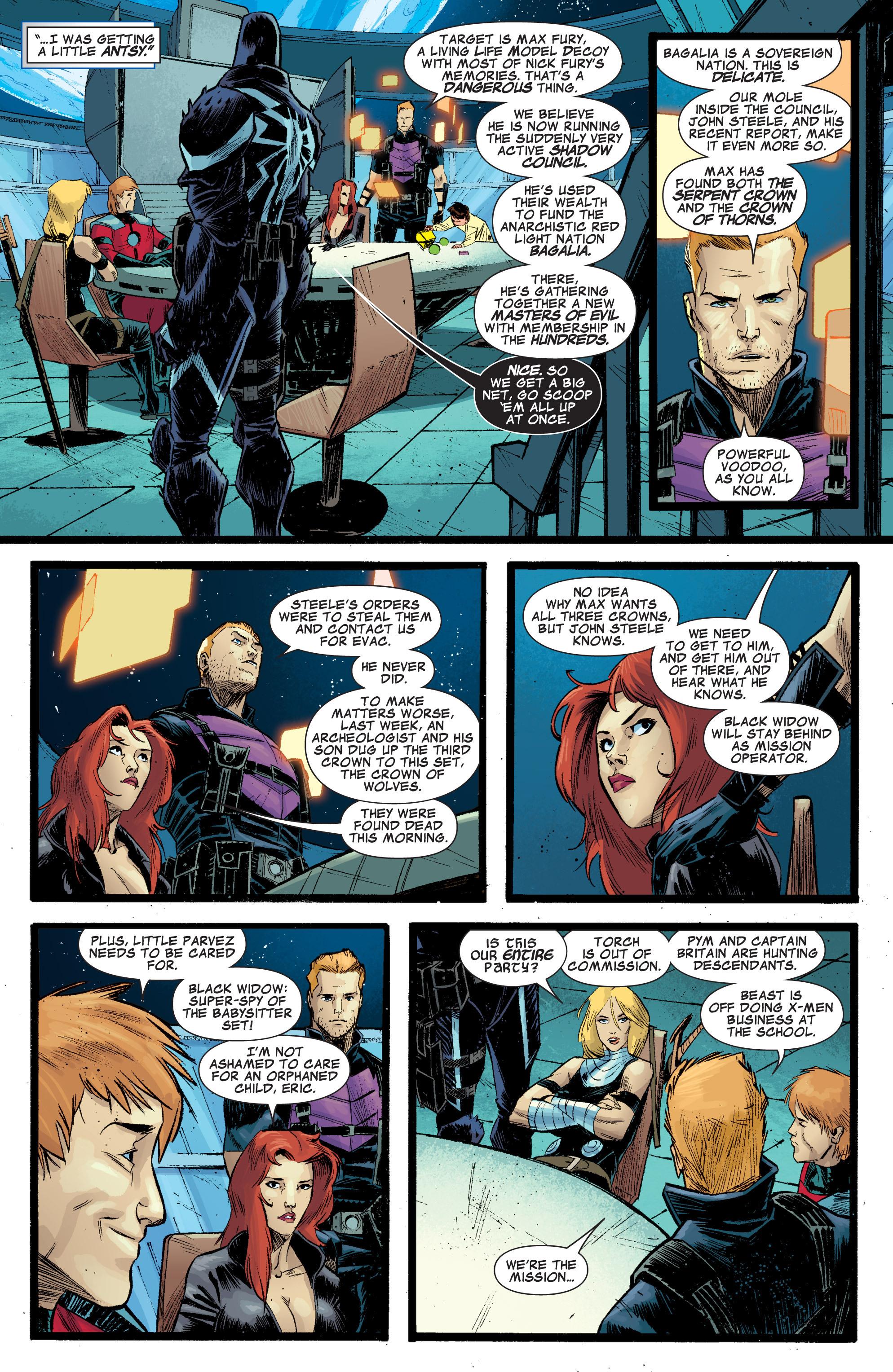 Read online Secret Avengers (2010) comic -  Issue #29 - 9