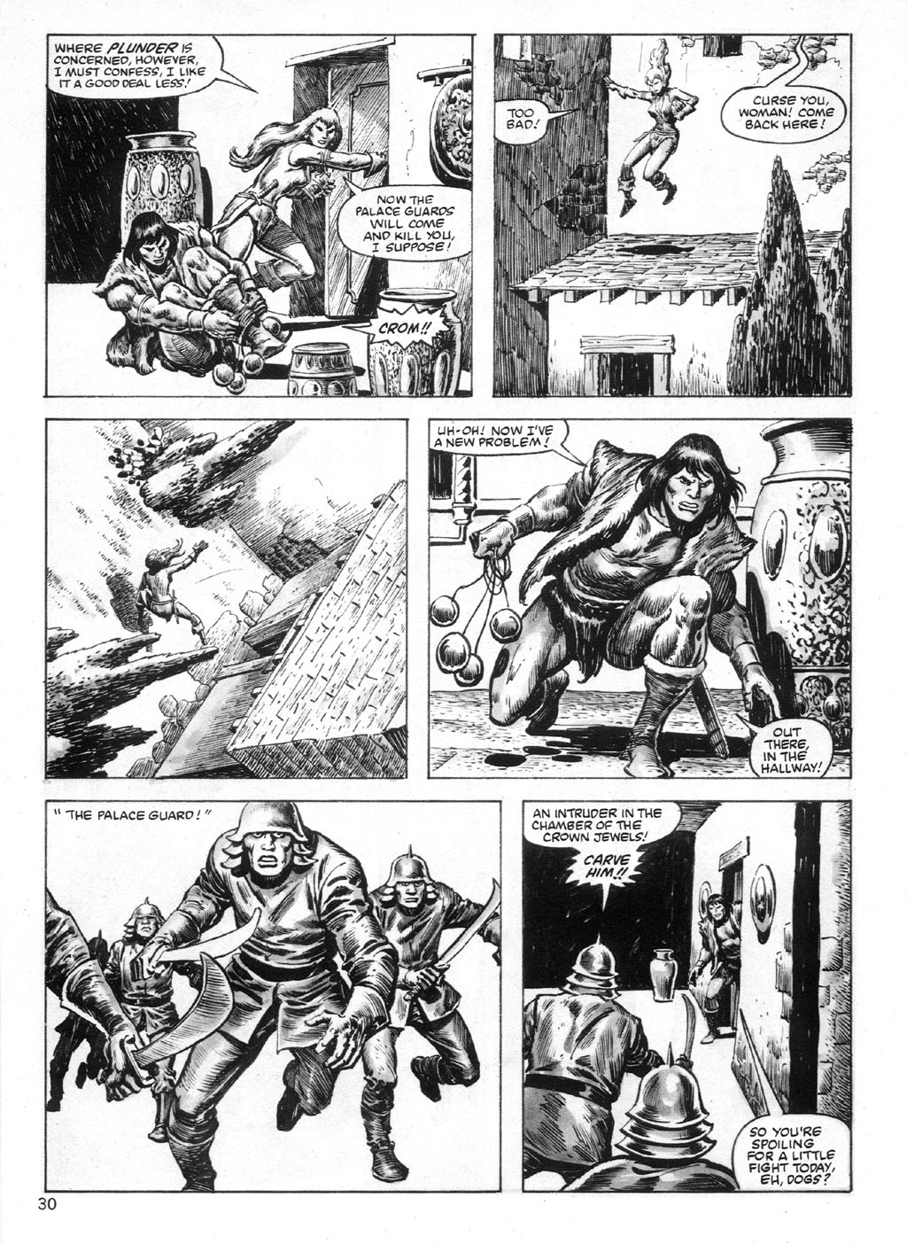 The Savage Sword Of Conan Issue #95 #96 - English 30