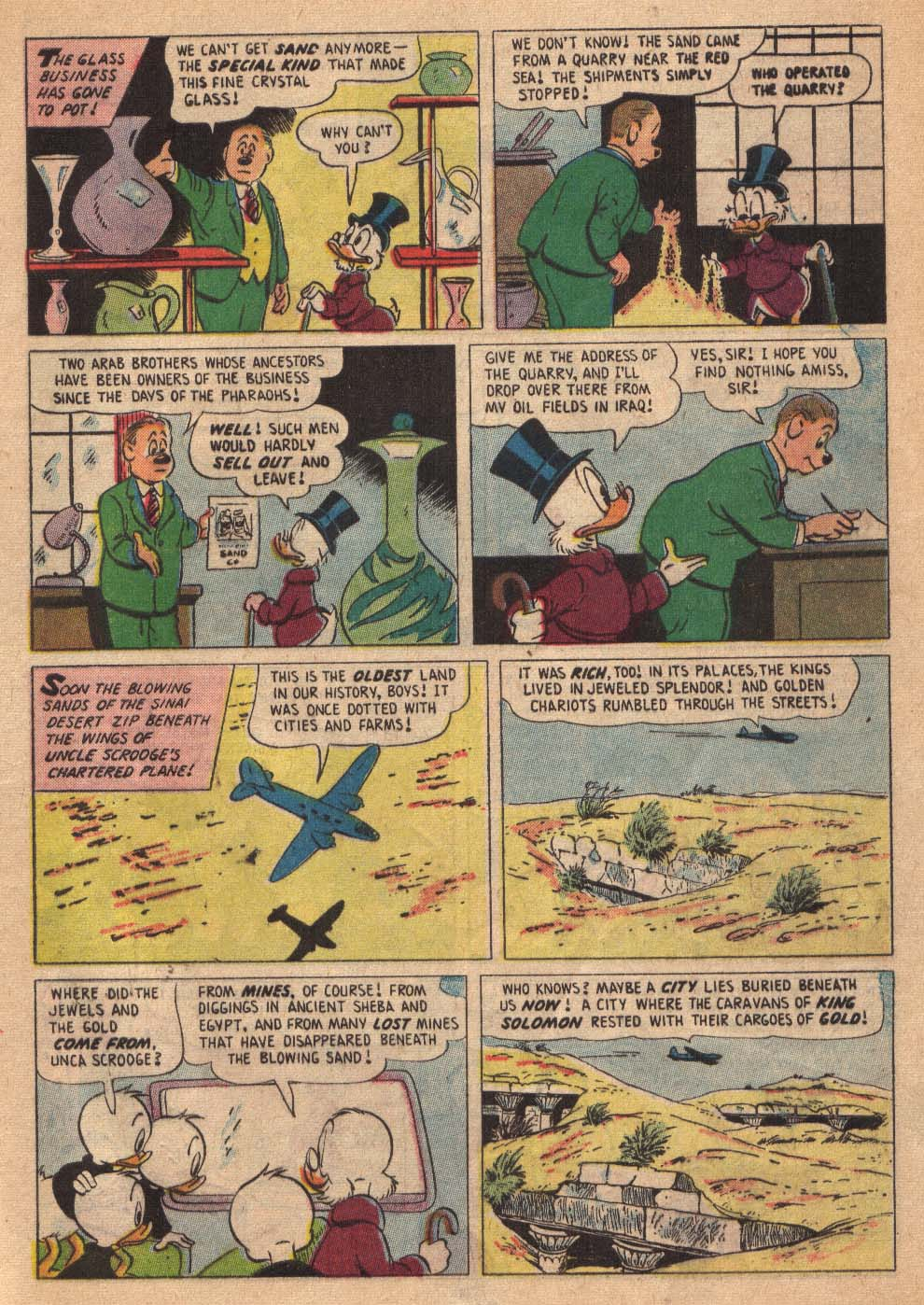 Uncle Scrooge (1953) Issue #19 #19 - English 9