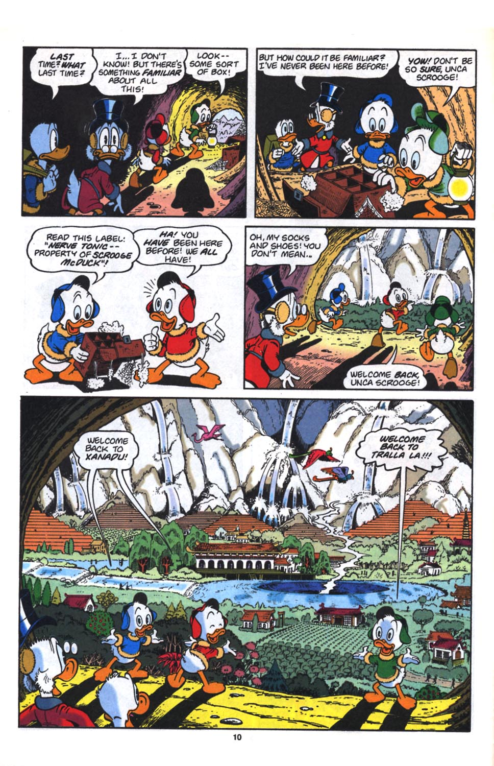 Uncle Scrooge (1953) Issue #261 #261 - English 11