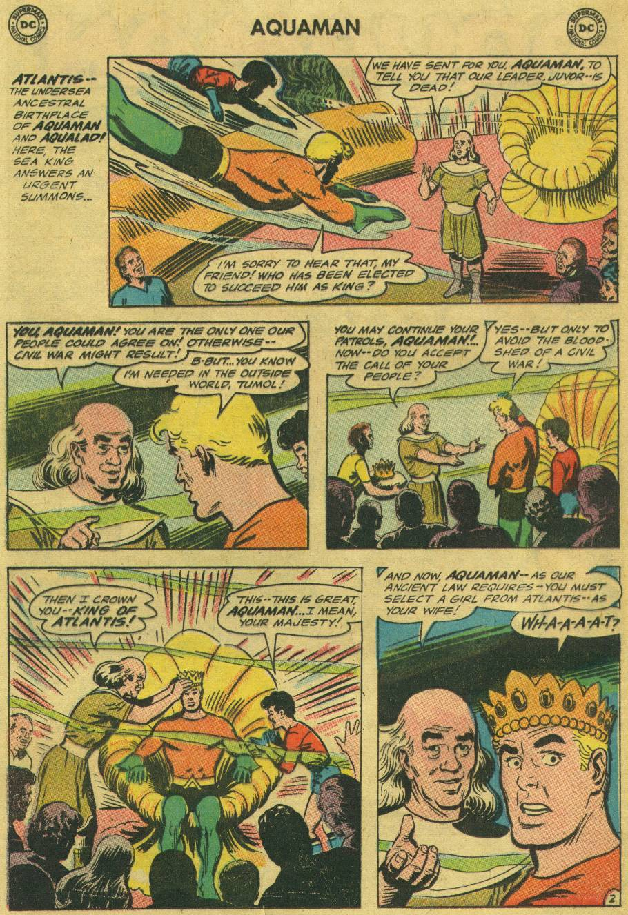 Aquaman (1962) Issue #18 #18 - English 4