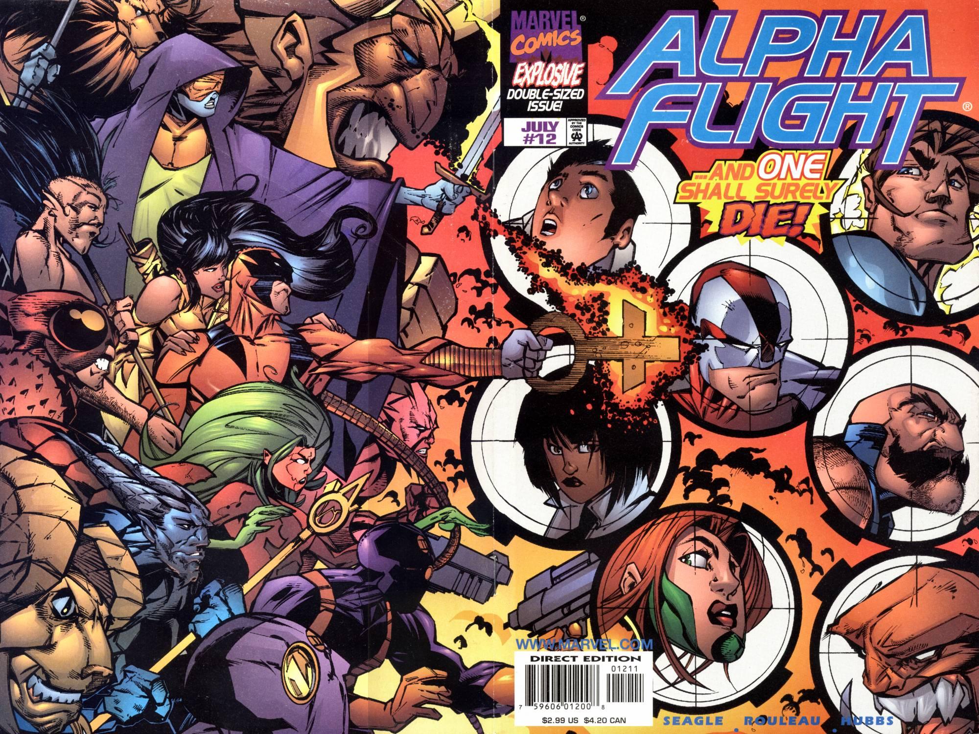 Alpha Flight (1997) 12 Page 1