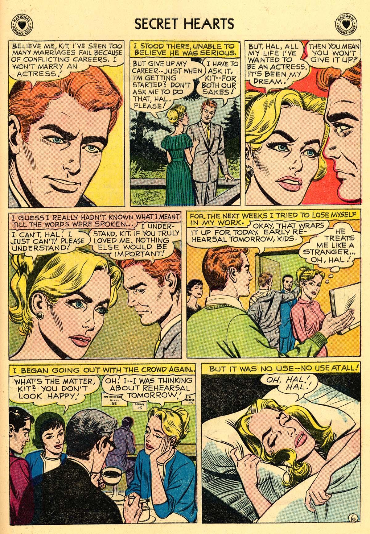 Read online Secret Hearts comic -  Issue #62 - 23