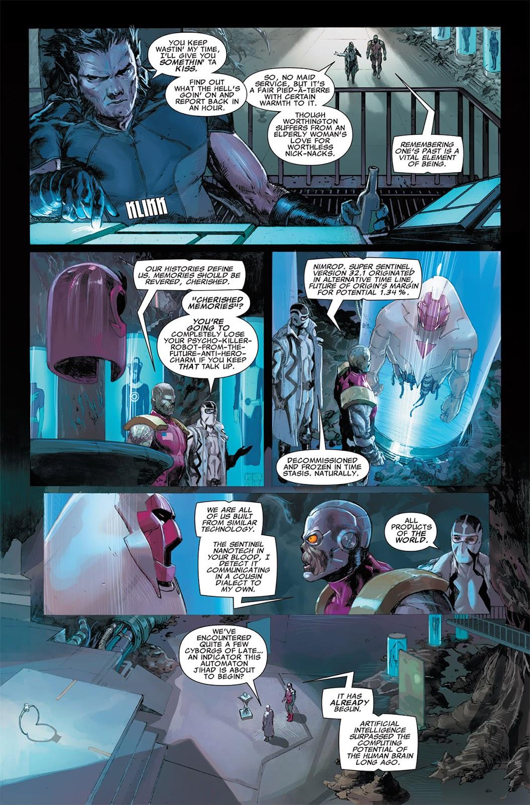 Uncanny X-Force (2010) Issue #8 #9 - English 4