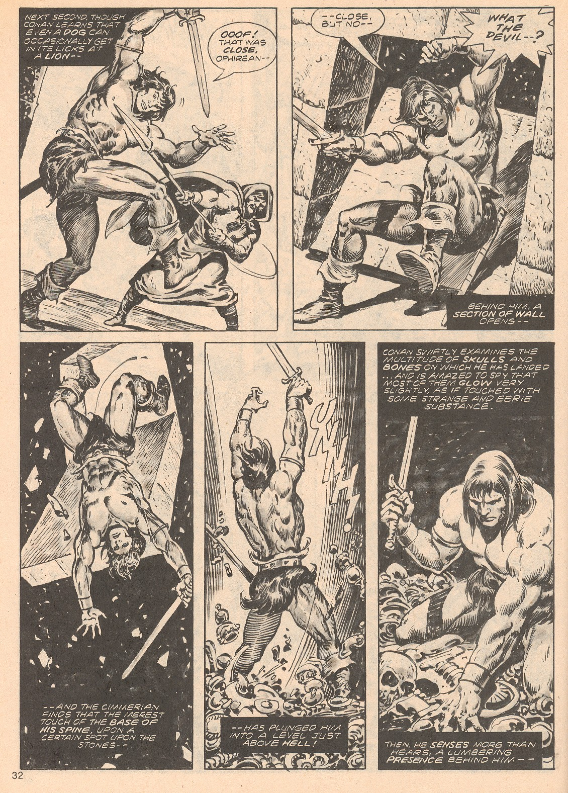 The Savage Sword Of Conan Issue #68 #69 - English 32