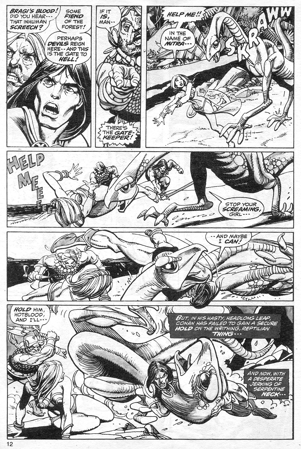 The Savage Sword Of Conan Issue #13 #14 - English 12