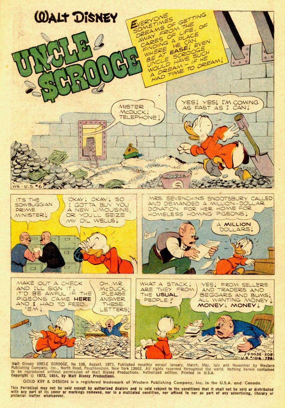 Uncle Scrooge (1953) Issue #106 #106 - English 3
