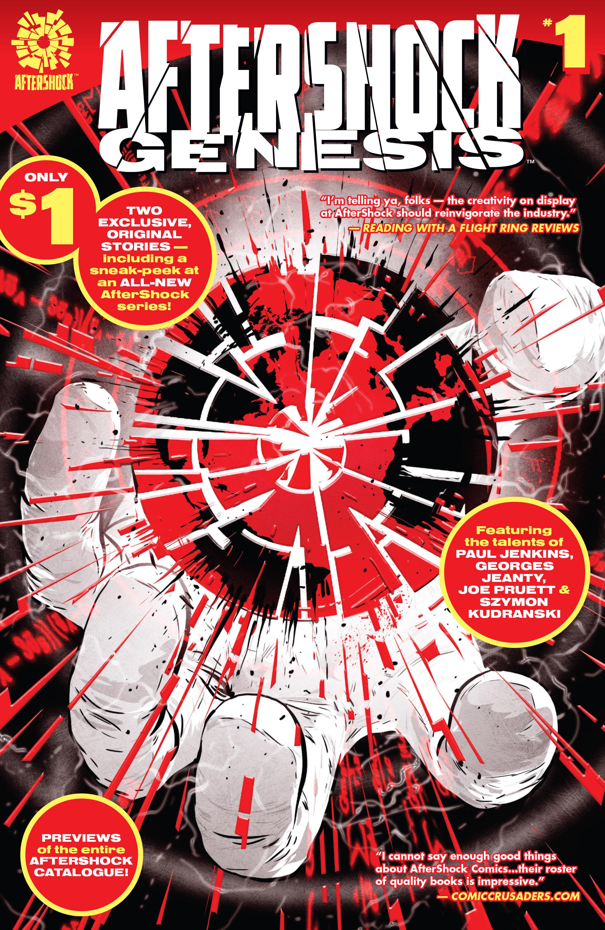 Aftershock Genesis 1 Page 1