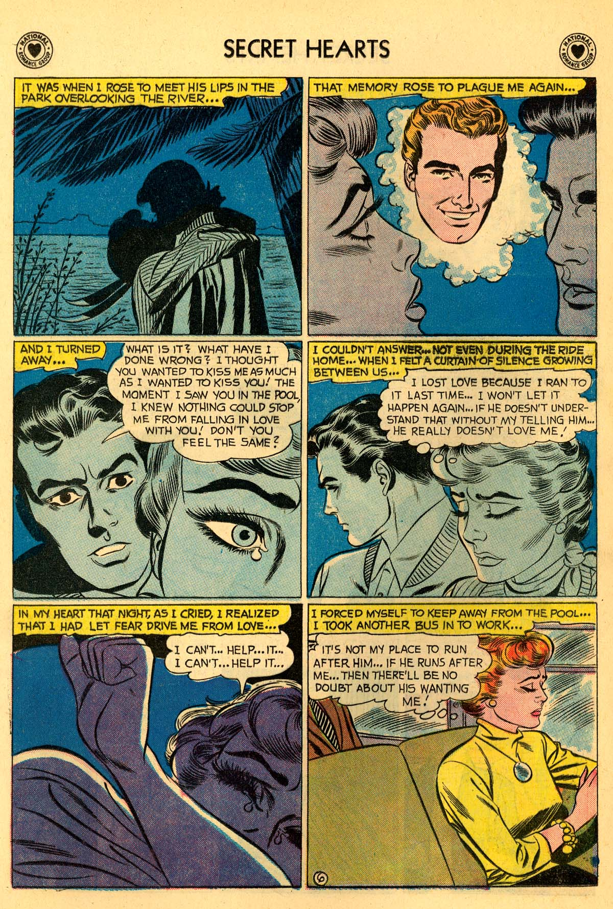 Read online Secret Hearts comic -  Issue #55 - 32