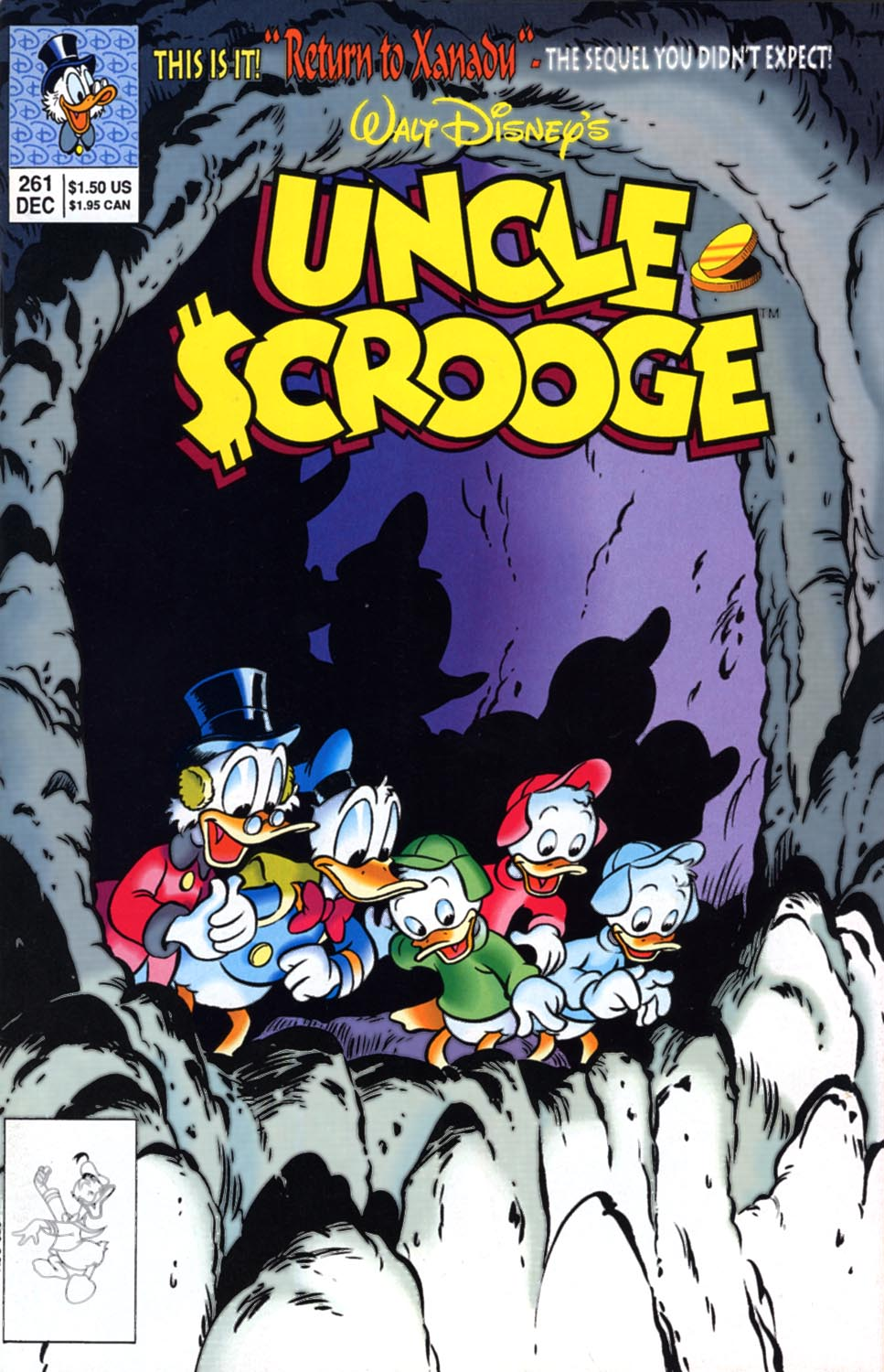 Uncle Scrooge (1953) Issue #261 #261 - English 1