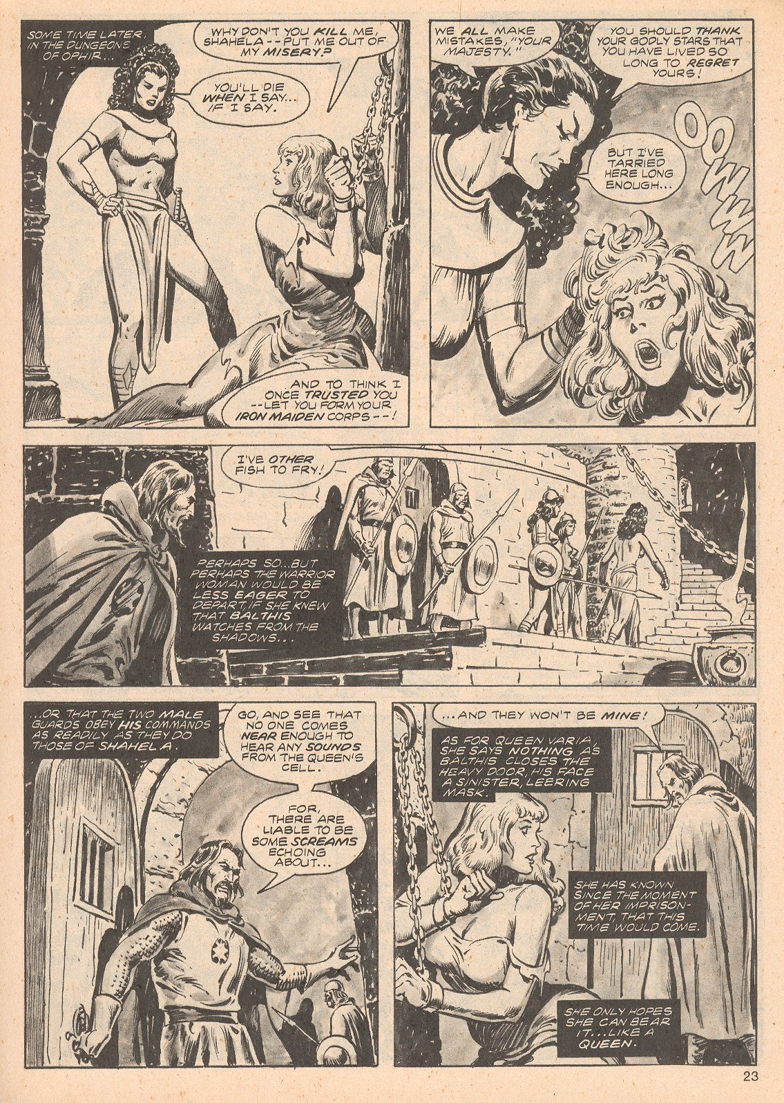 The Savage Sword Of Conan Issue #68 #69 - English 23