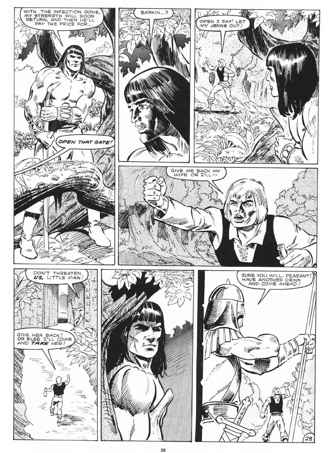 The Savage Sword Of Conan Issue #171 #172 - English 30