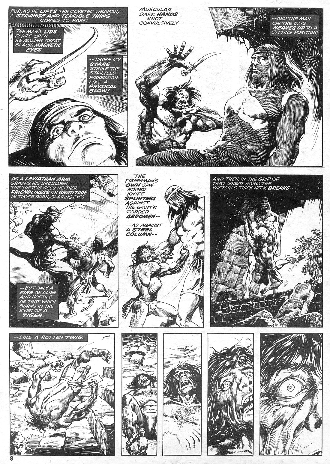 The Savage Sword Of Conan Issue #15 #16 - English 8