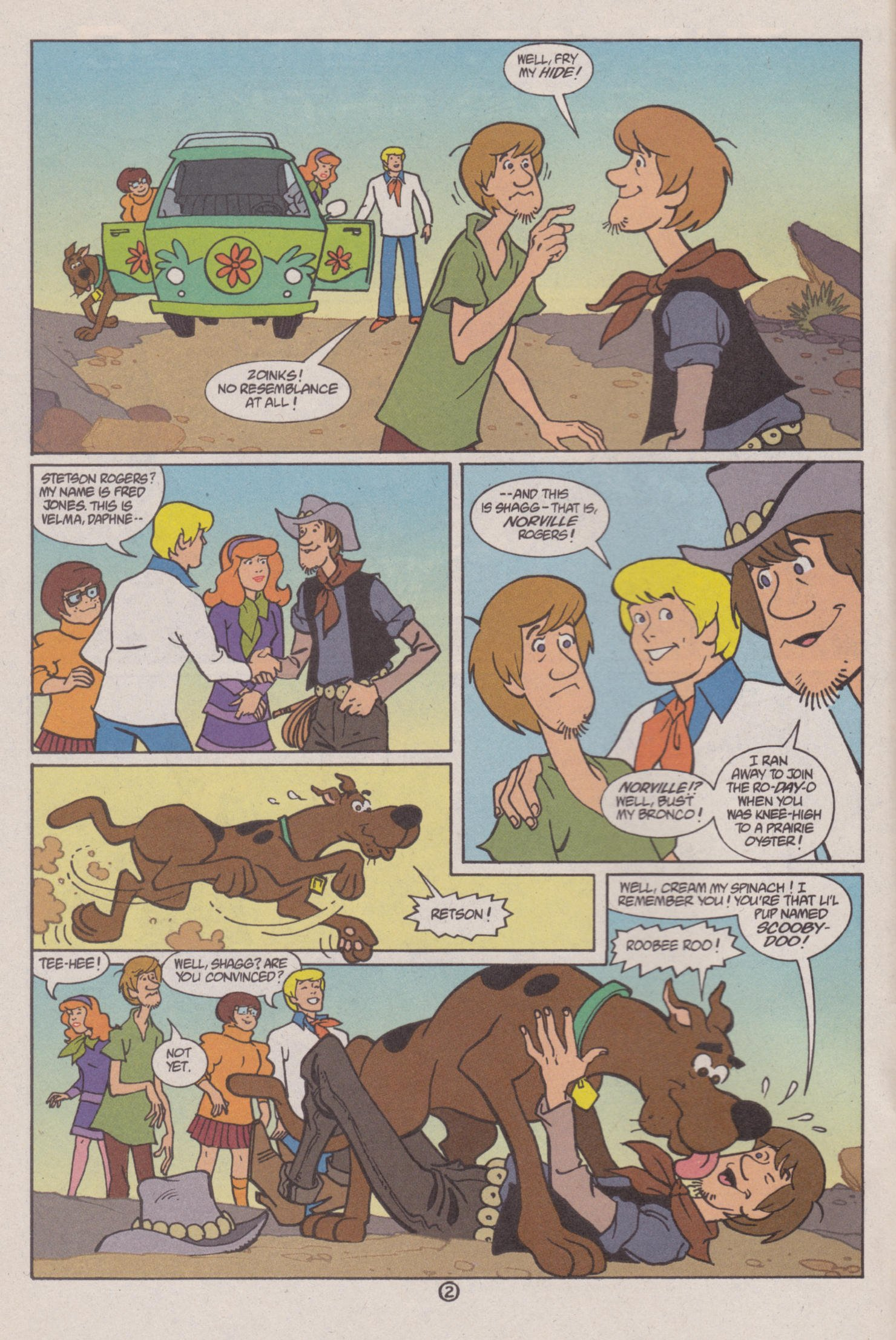 Read online Scooby-Doo (1997) comic -  Issue #6 - 3