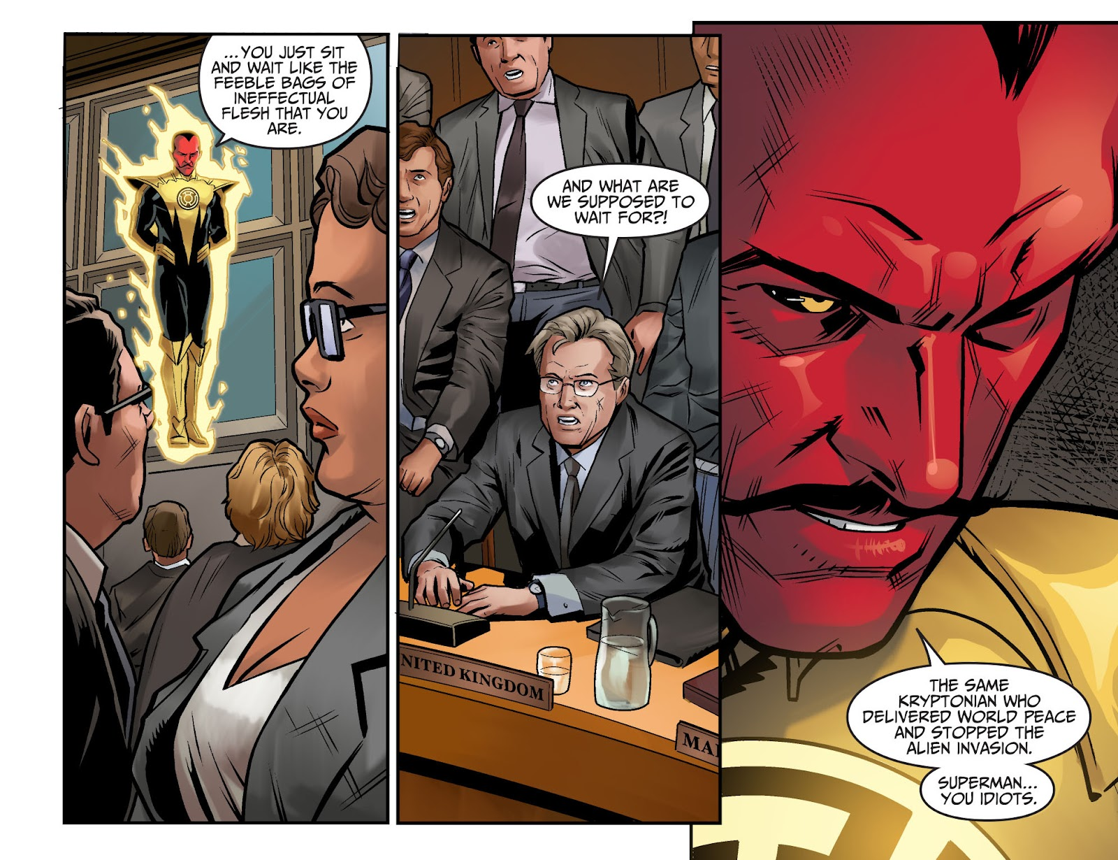 Injustice: Gods Among Us Year Four Issue #15 #16 - English 20