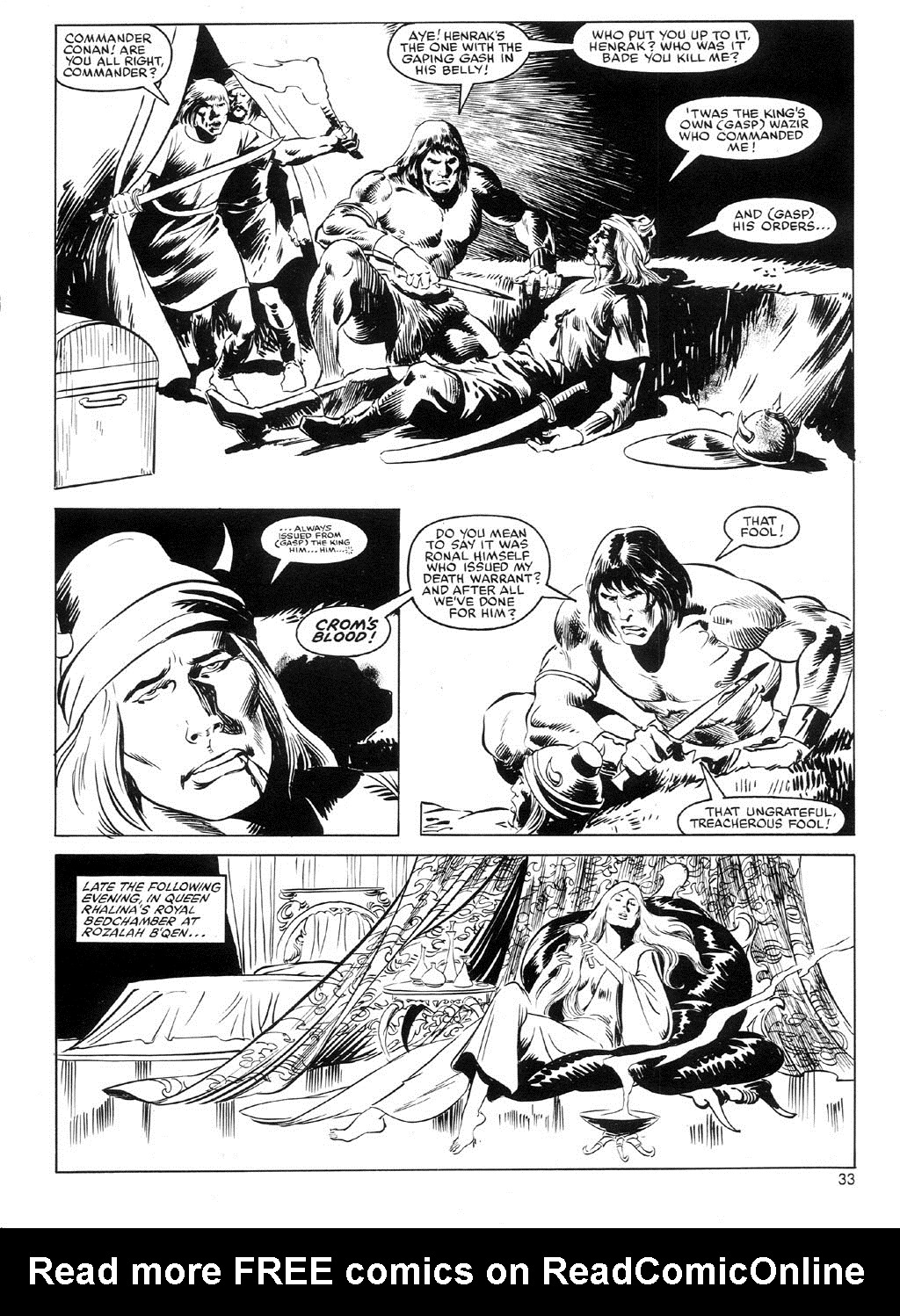 The Savage Sword Of Conan Issue #91 #92 - English 32