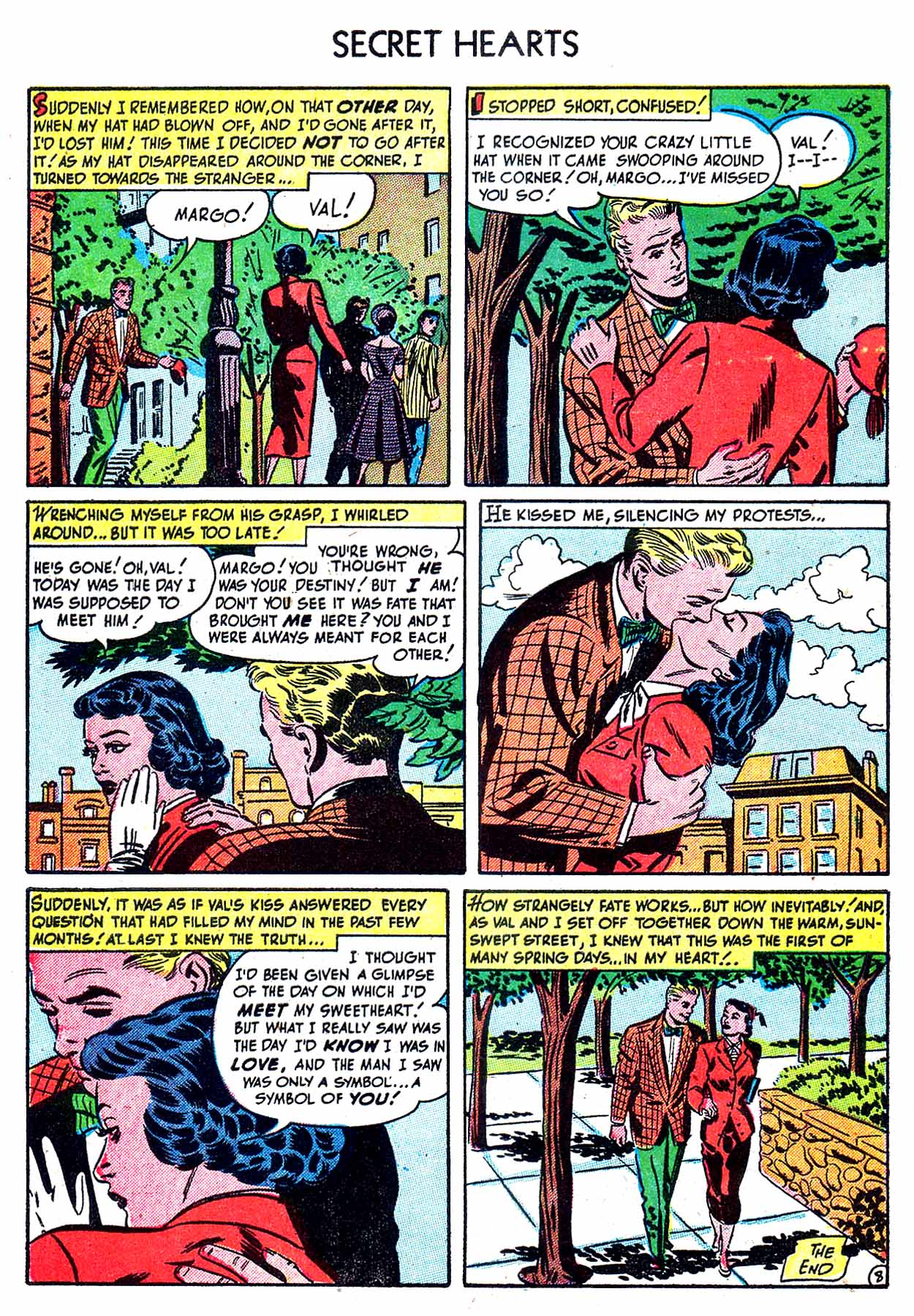 Read online Secret Hearts comic -  Issue #8 - 10