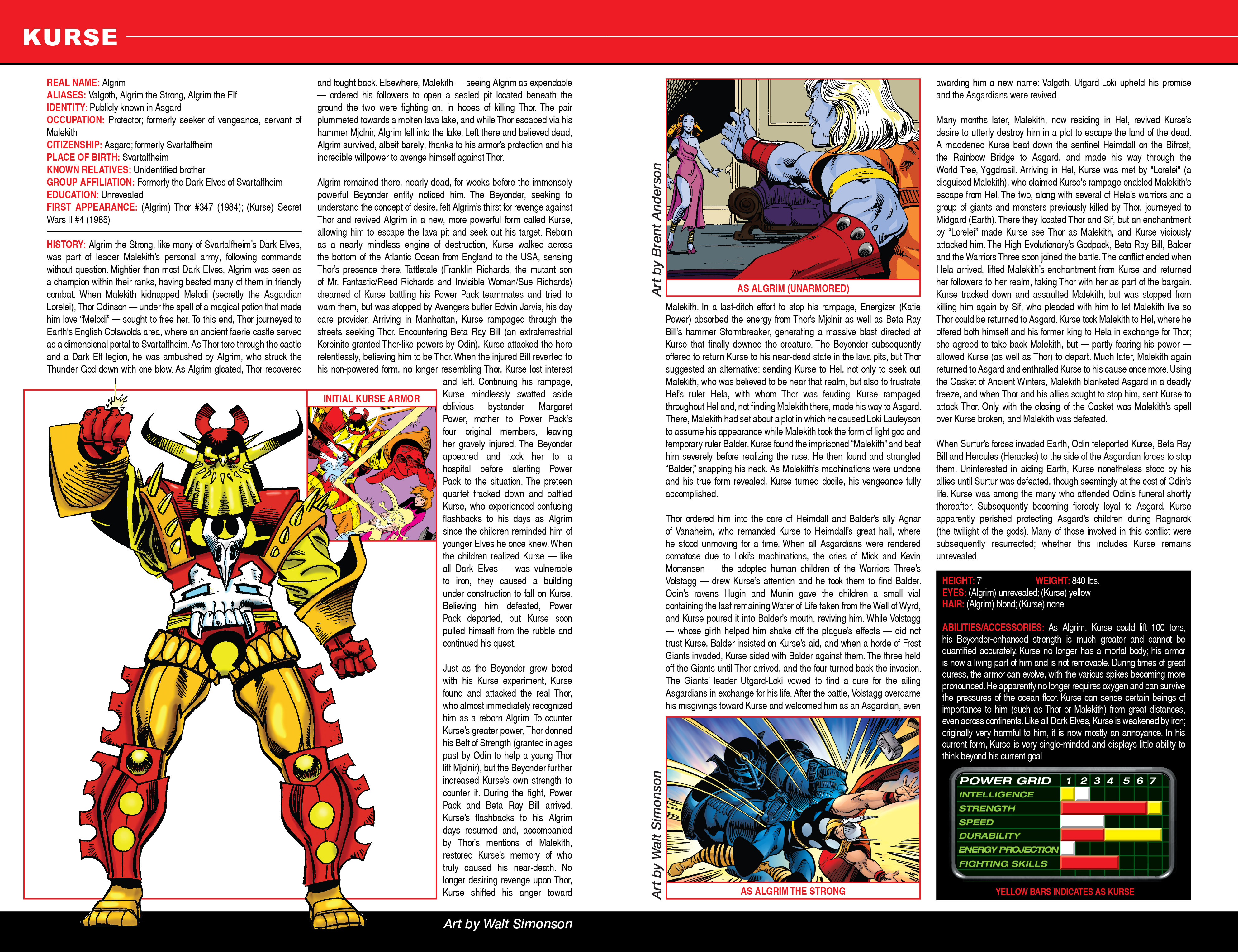Read online Secret Wars: Official Guide to the Marvel Multiverse comic -  Issue # Full - 12