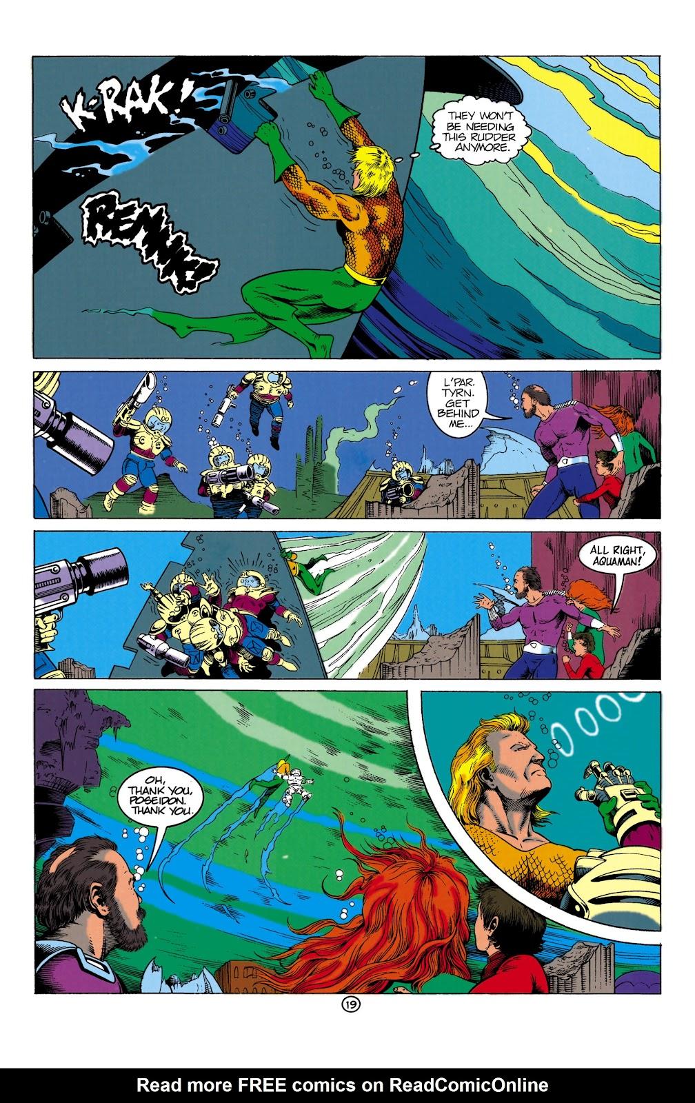 Aquaman (1991) Issue #1 #1 - English 19
