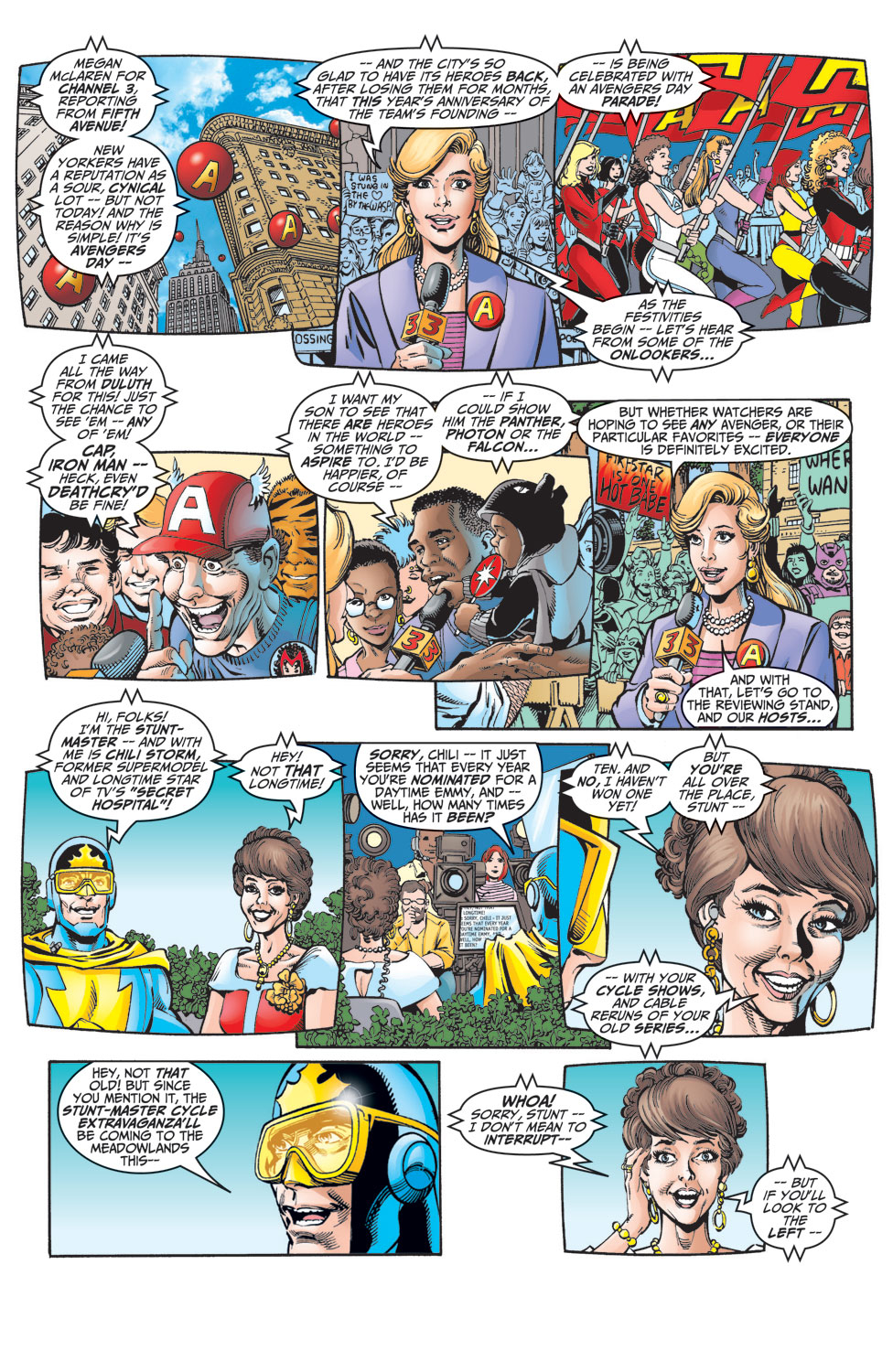 Read online Avengers (1998) comic -  Issue #10 - 2
