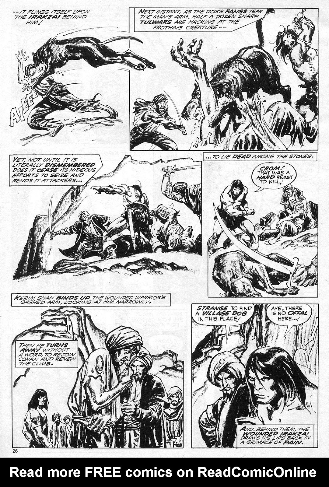 The Savage Sword Of Conan Issue #18 #19 - English 26
