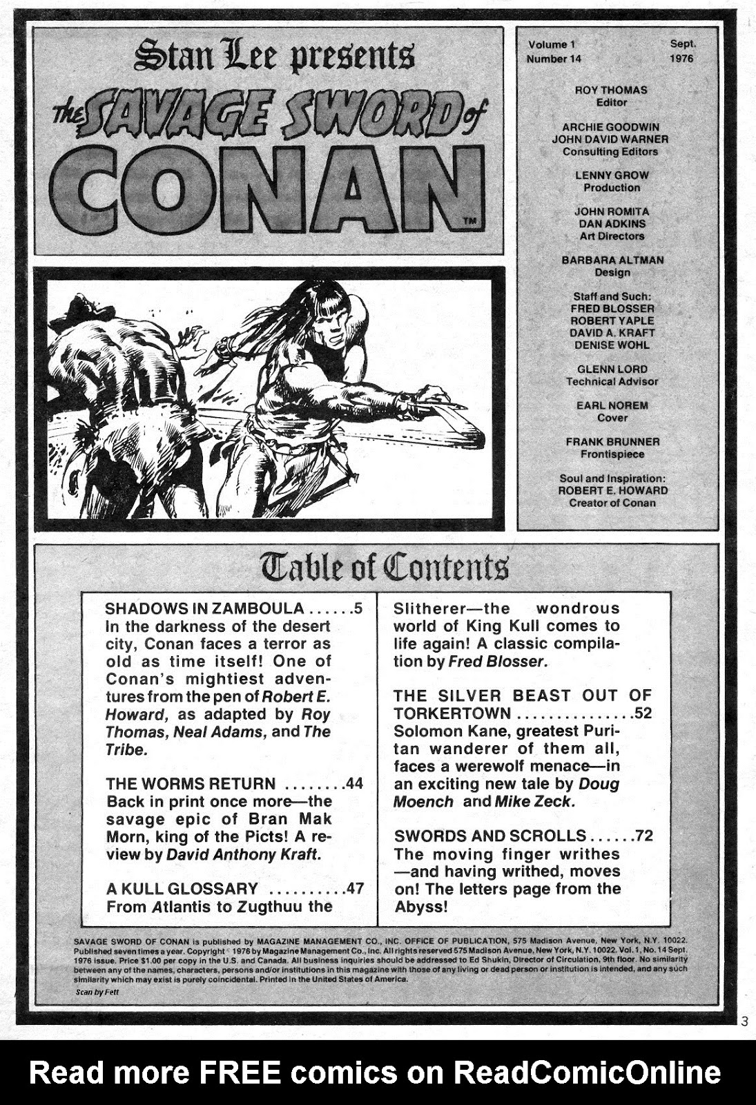 The Savage Sword Of Conan Issue #14 #15 - English 3