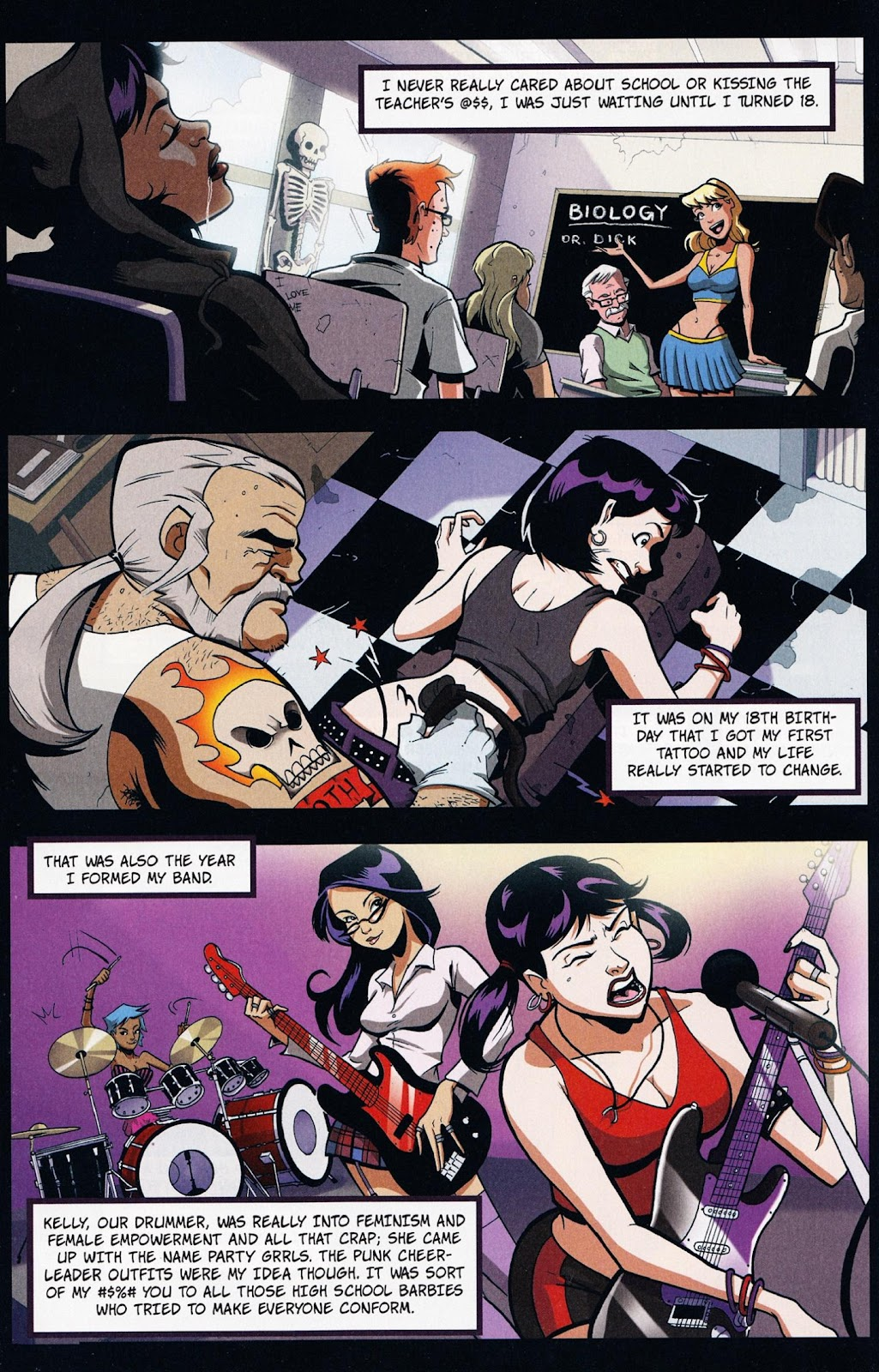 Zombies vs Cheerleaders Issue #1 Page 15