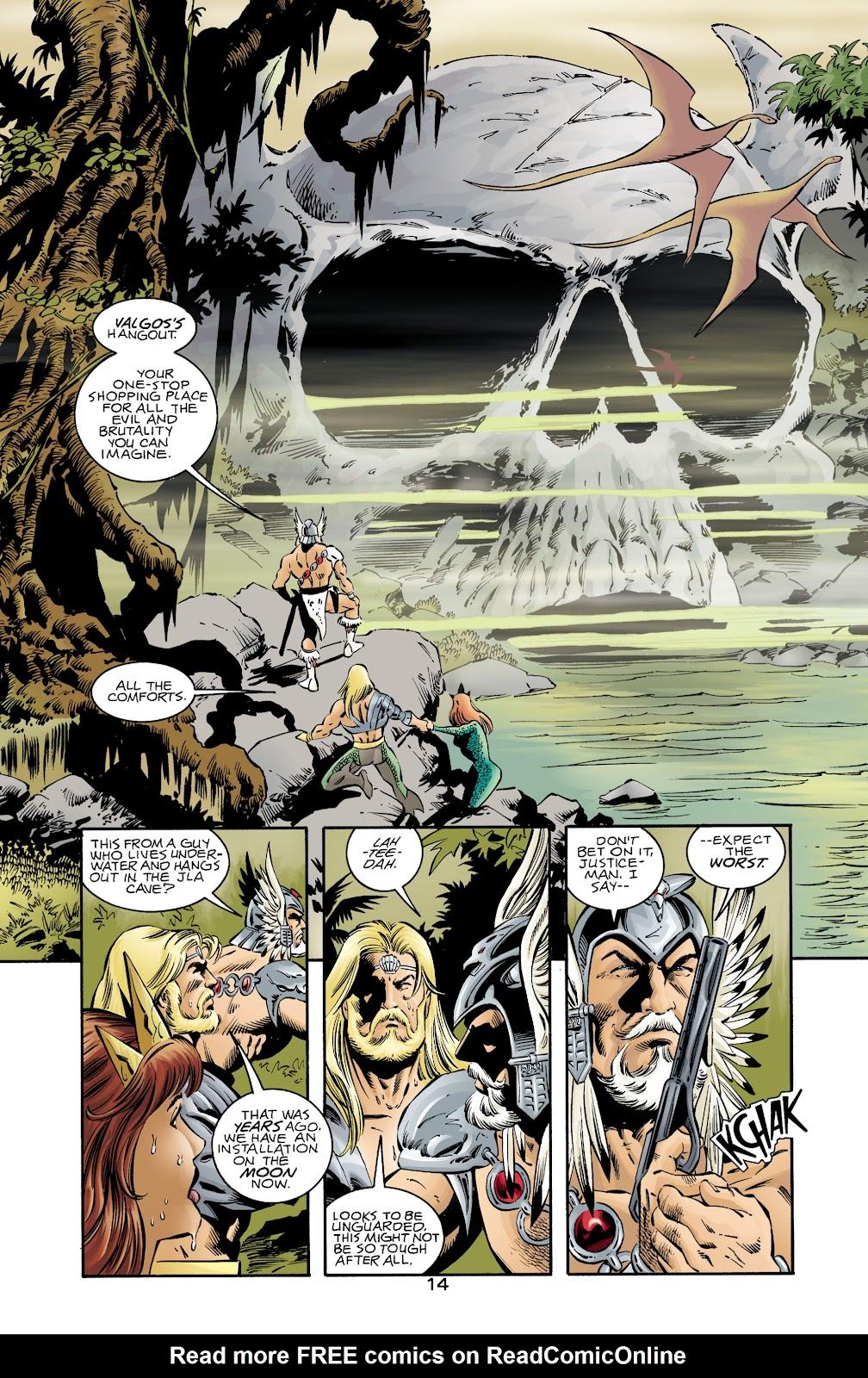 Aquaman (1994) Issue #72 #78 - English 13