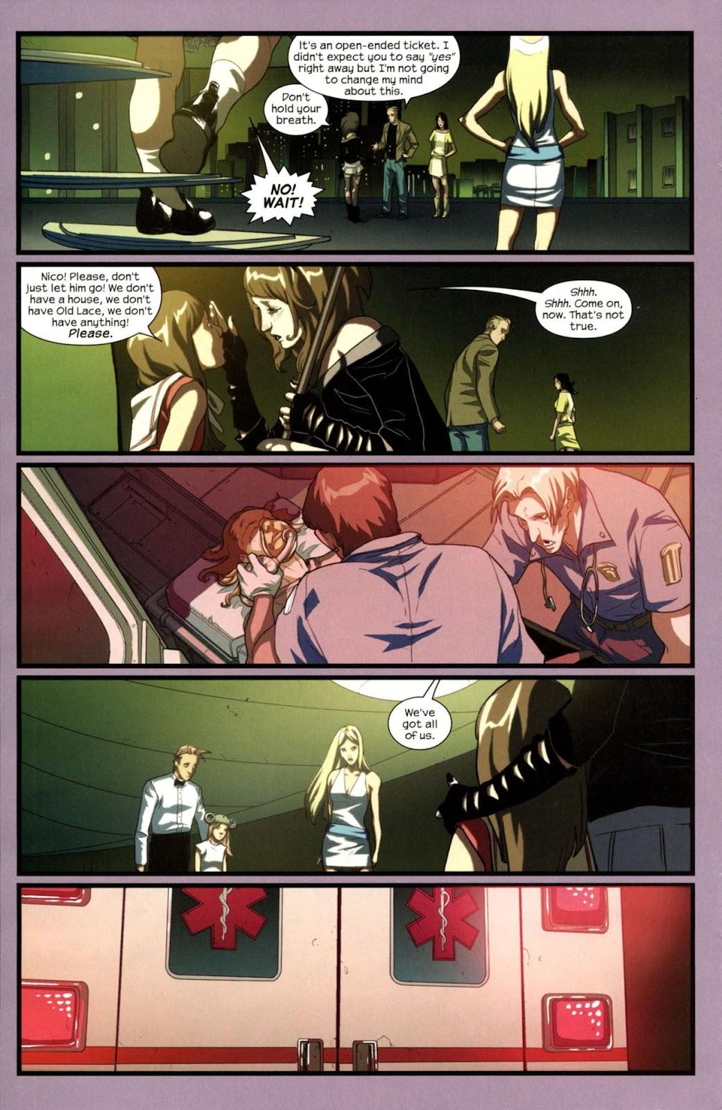 Runaways (2008) Issue #14 #14 - English 20
