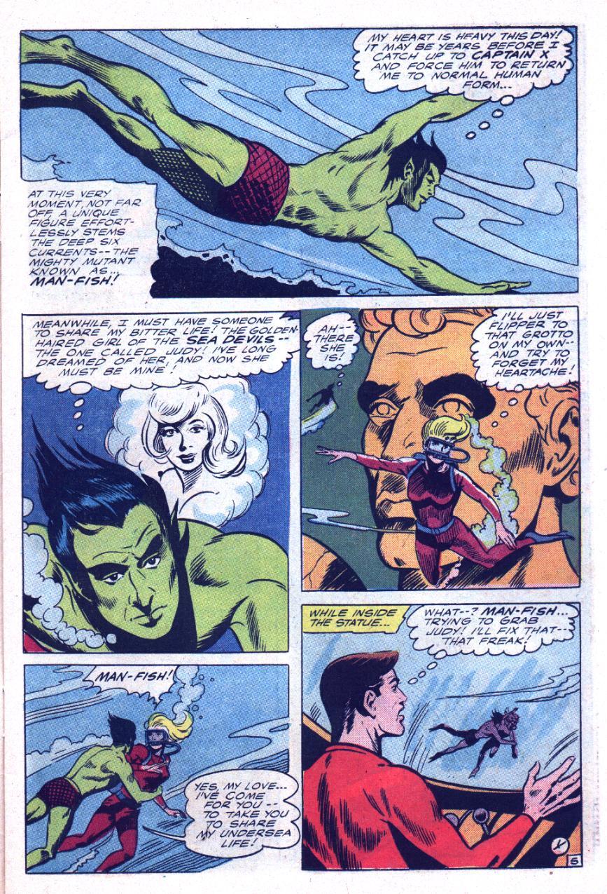 Read online Sea Devils comic -  Issue #26 - 8