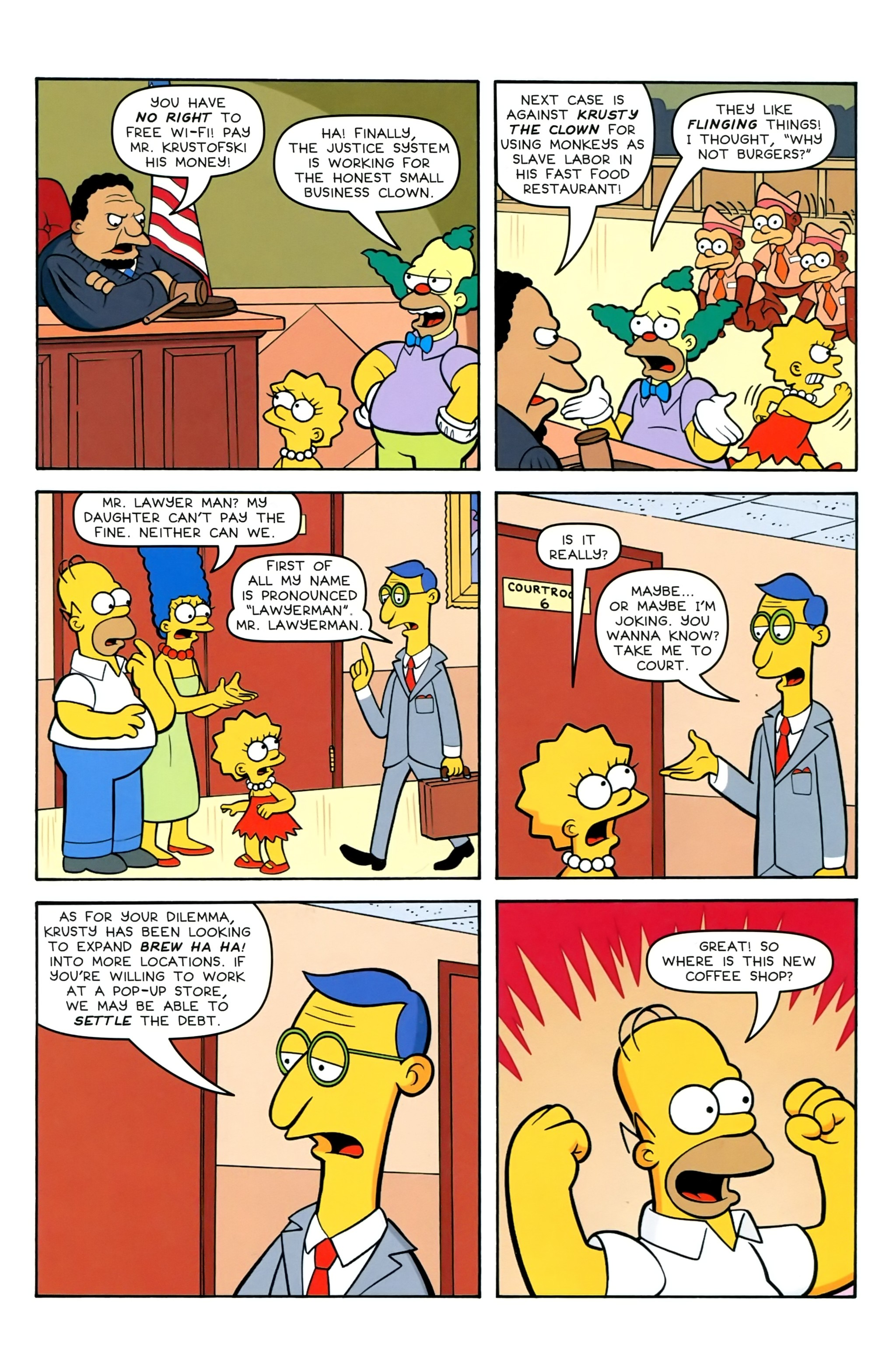 Read online Simpsons Comics comic -  Issue #239 - 5
