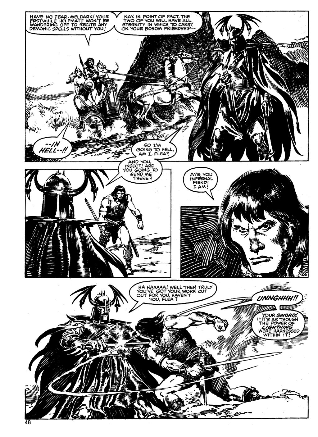 The Savage Sword Of Conan Issue #90 #91 - English 47