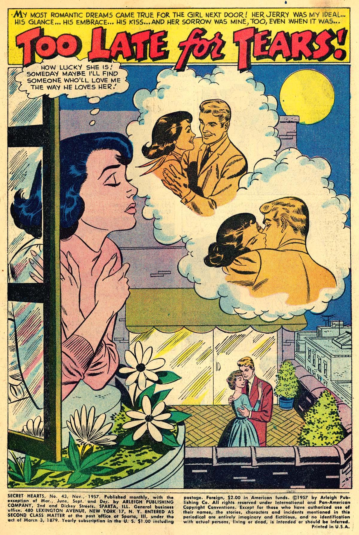 Read online Secret Hearts comic -  Issue #43 - 3