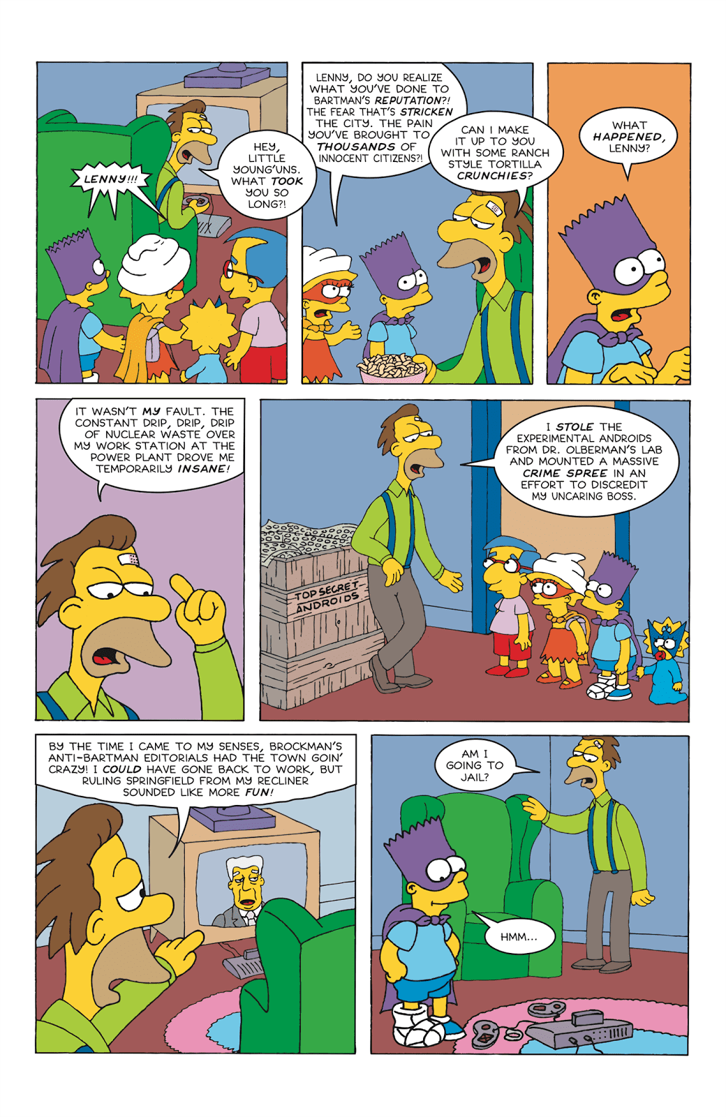 Read online Bartman comic -  Issue #6 - 26