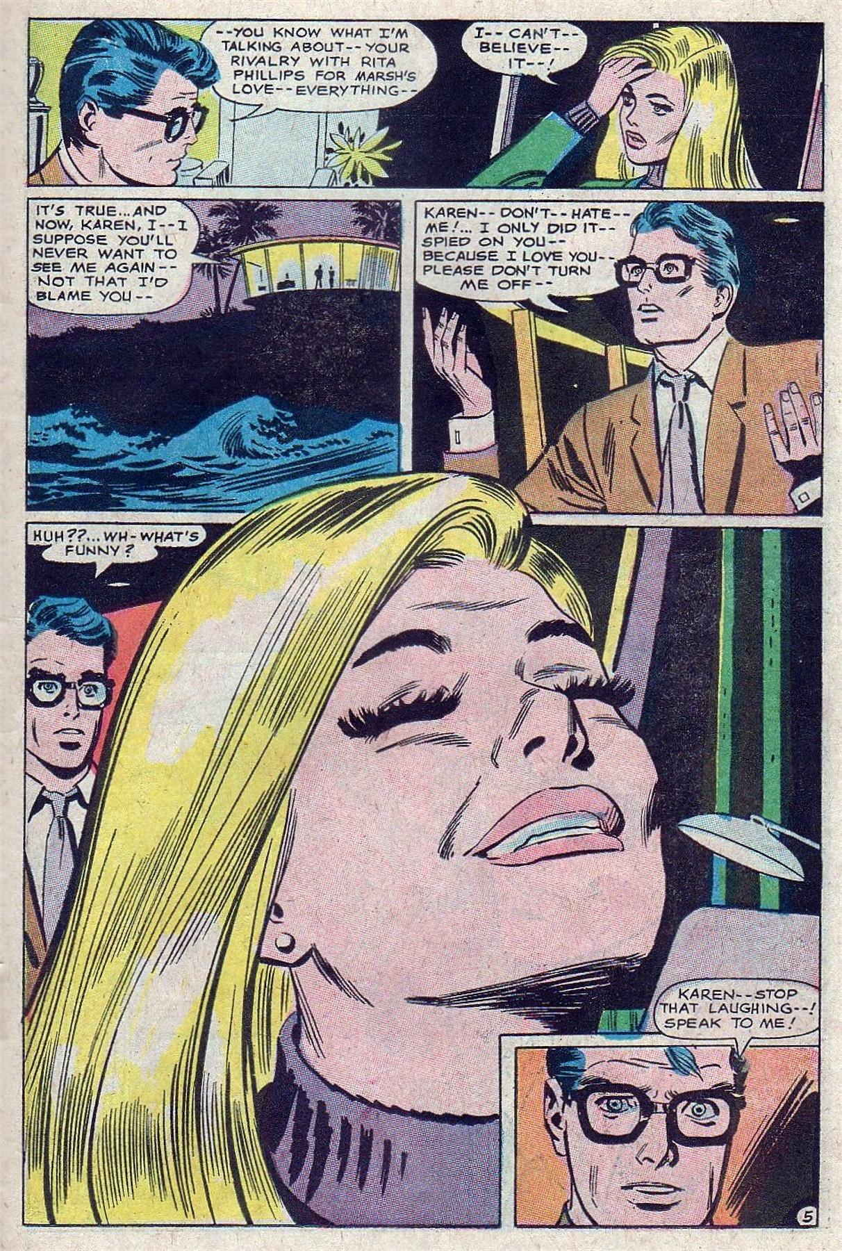 Read online Secret Hearts comic -  Issue #129 - 23