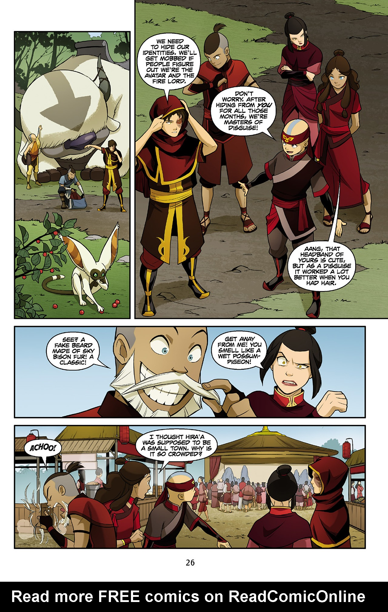 Read online Nickelodeon Avatar: The Last Airbender - The Search comic -  Issue # Part 2 - 27