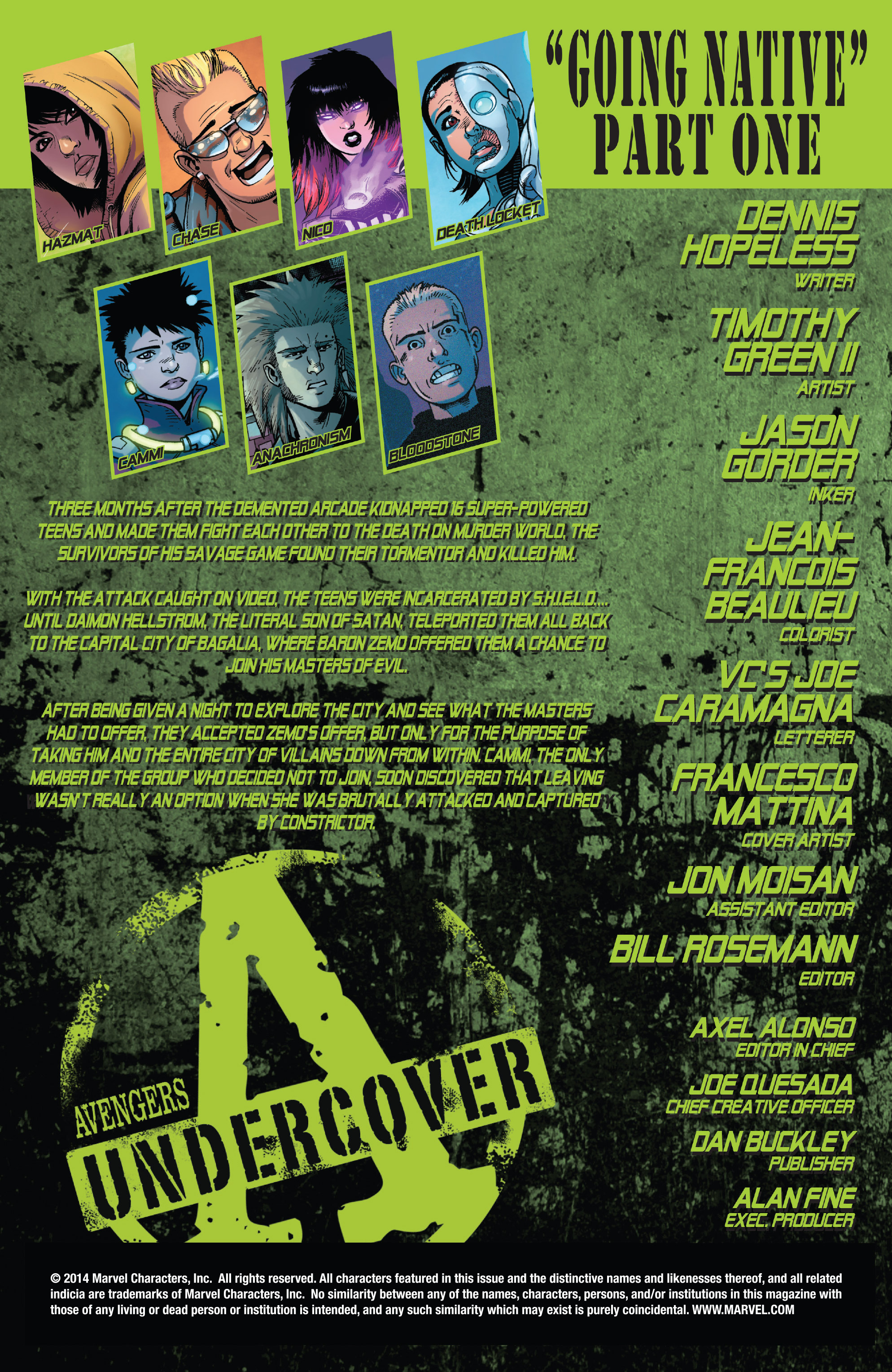 Read online Avengers Undercover comic -  Issue #6 - 2