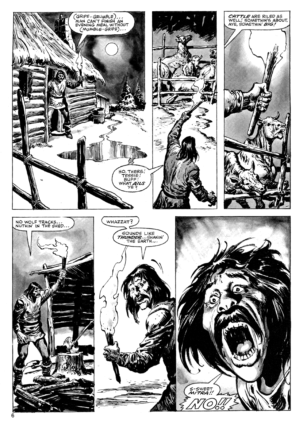 The Savage Sword Of Conan Issue #72 #73 - English 6