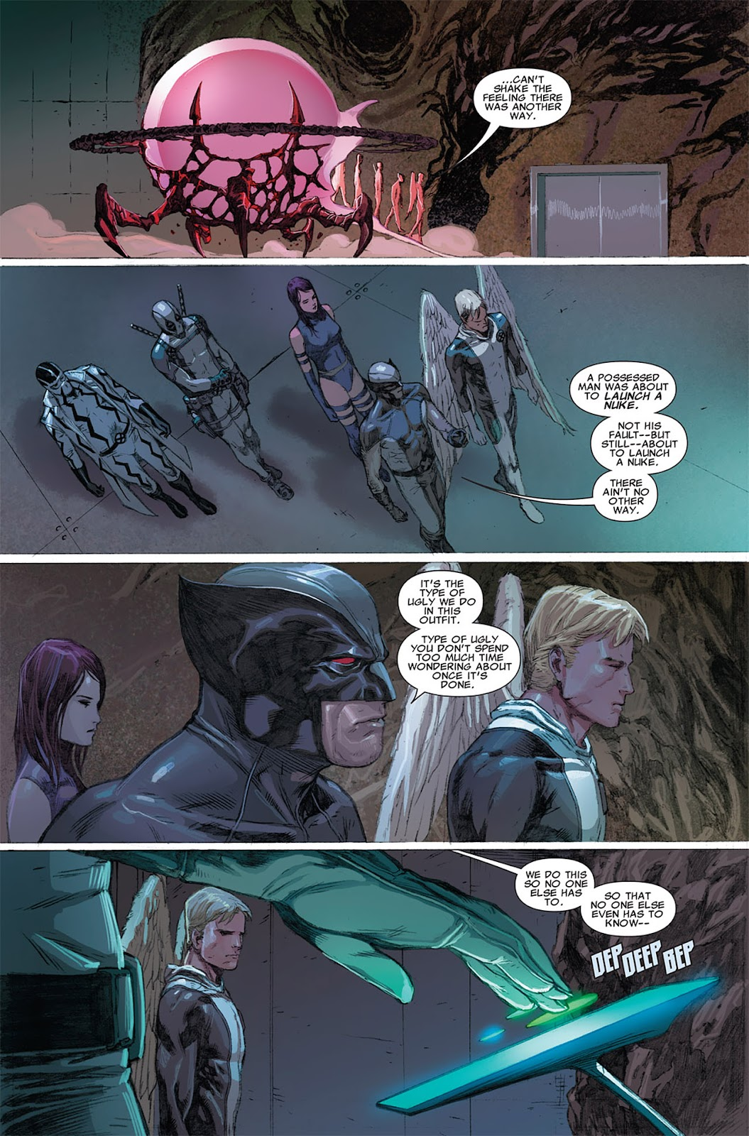 Uncanny X-Force (2010) Issue #9 #10 - English 10
