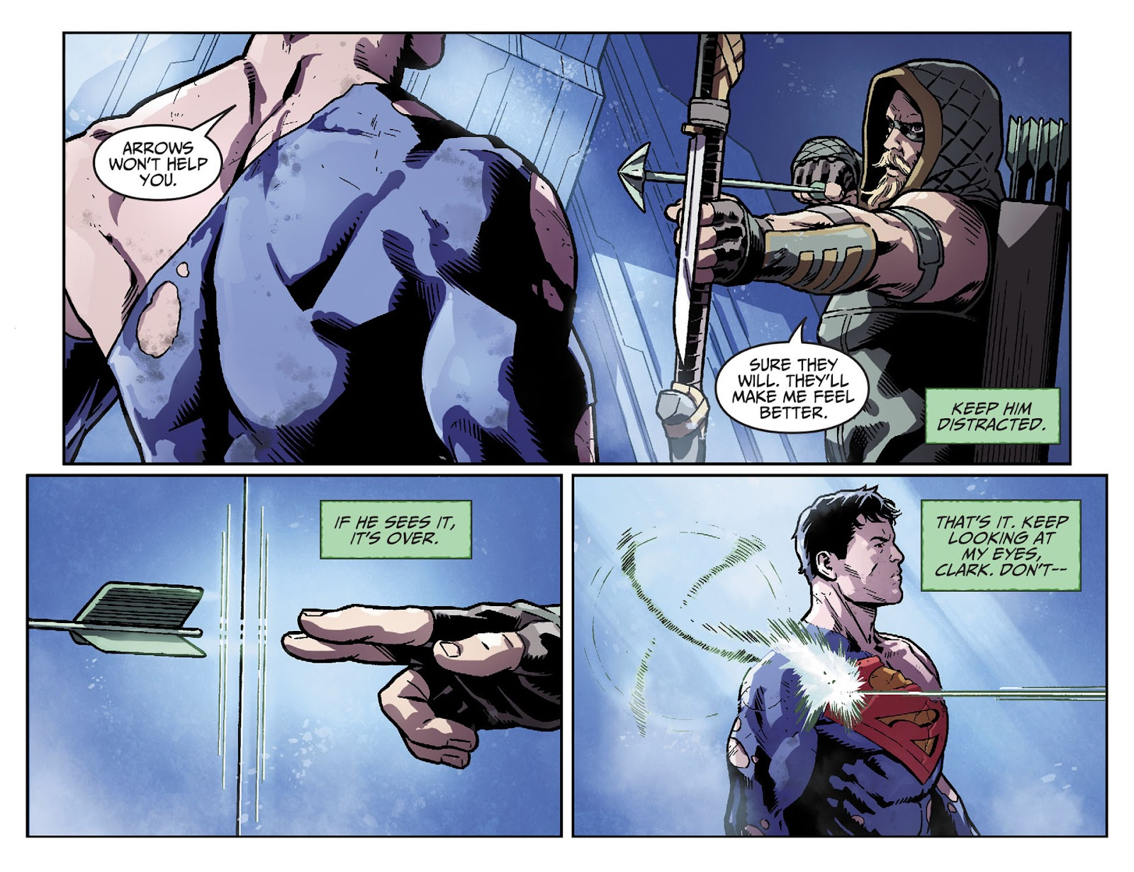 Injustice: Gods Among Us [I] Issue #33 #34 - English 12