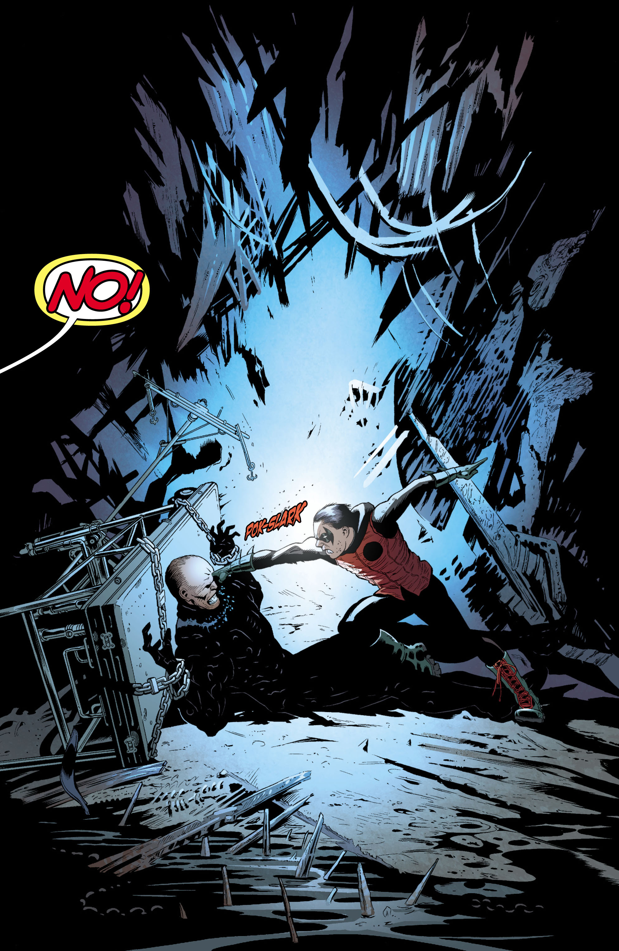 Batman and Robin (2011) chap 1 pic 150