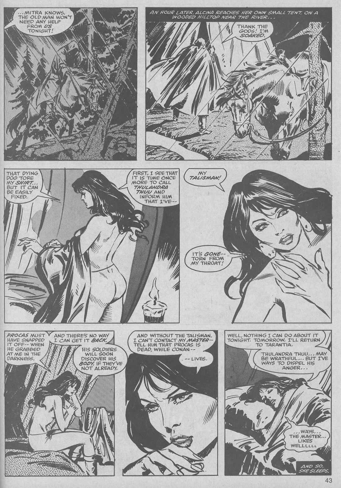The Savage Sword Of Conan Issue #50 #51 - English 43