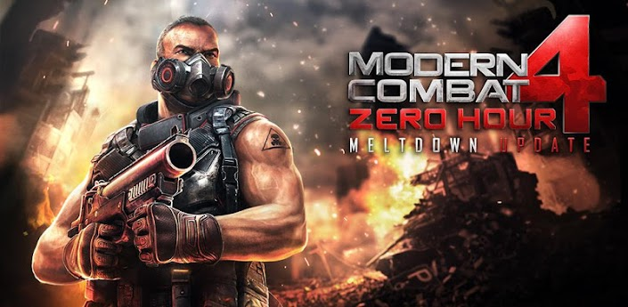 Download Modern Combat 4: Zero Hour Apk cracked mod patched
