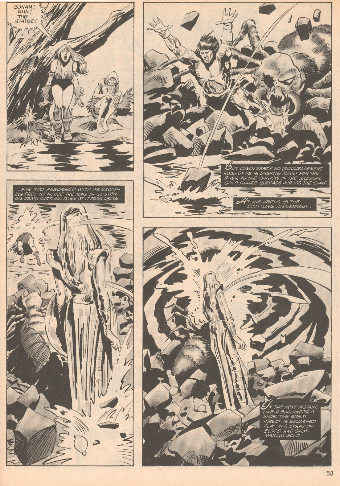The Savage Sword Of Conan Issue #70 #71 - English 53
