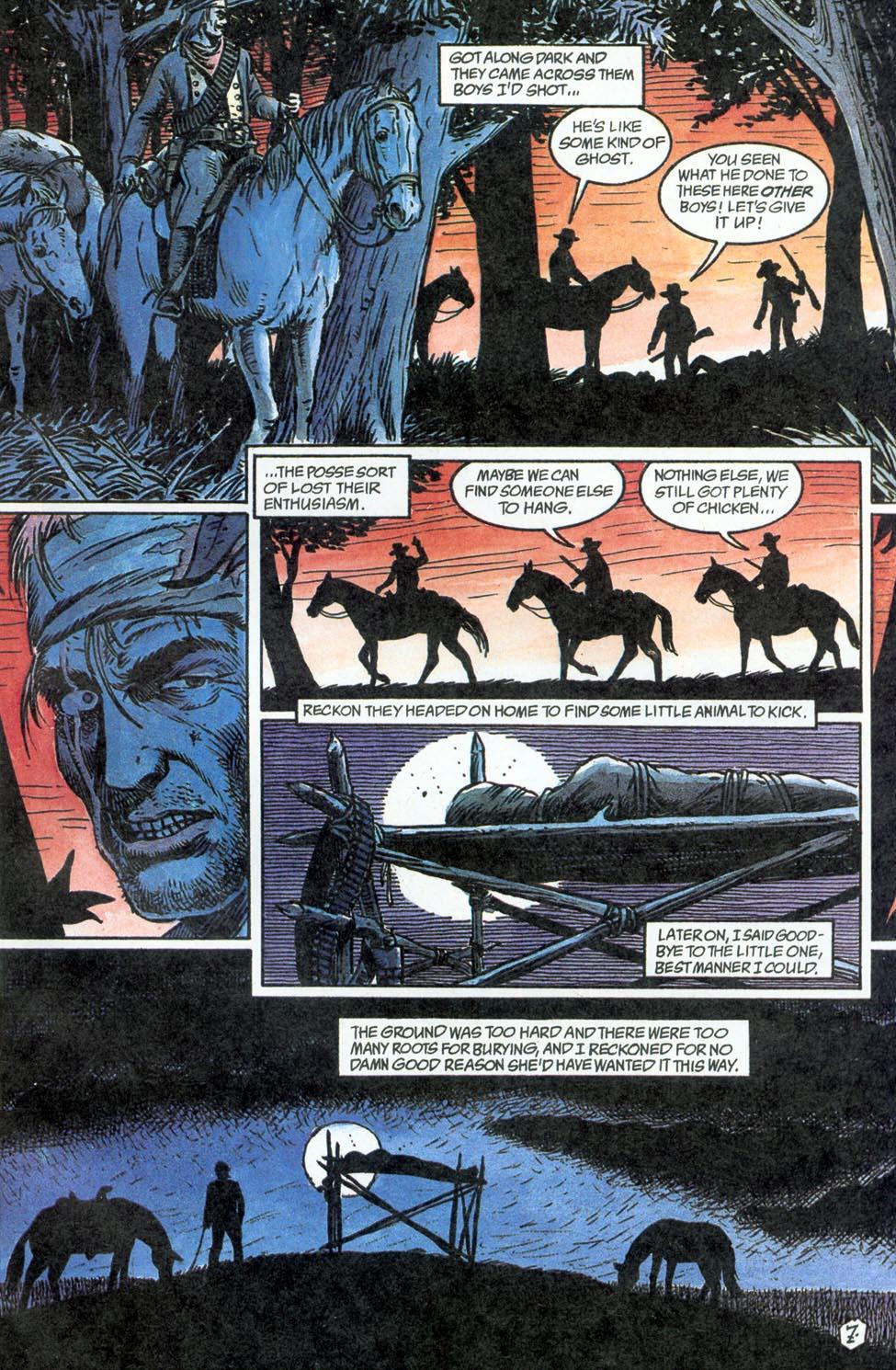 Jonah Hex: Two-Gun Mojo Issue #3 #3 - English 9