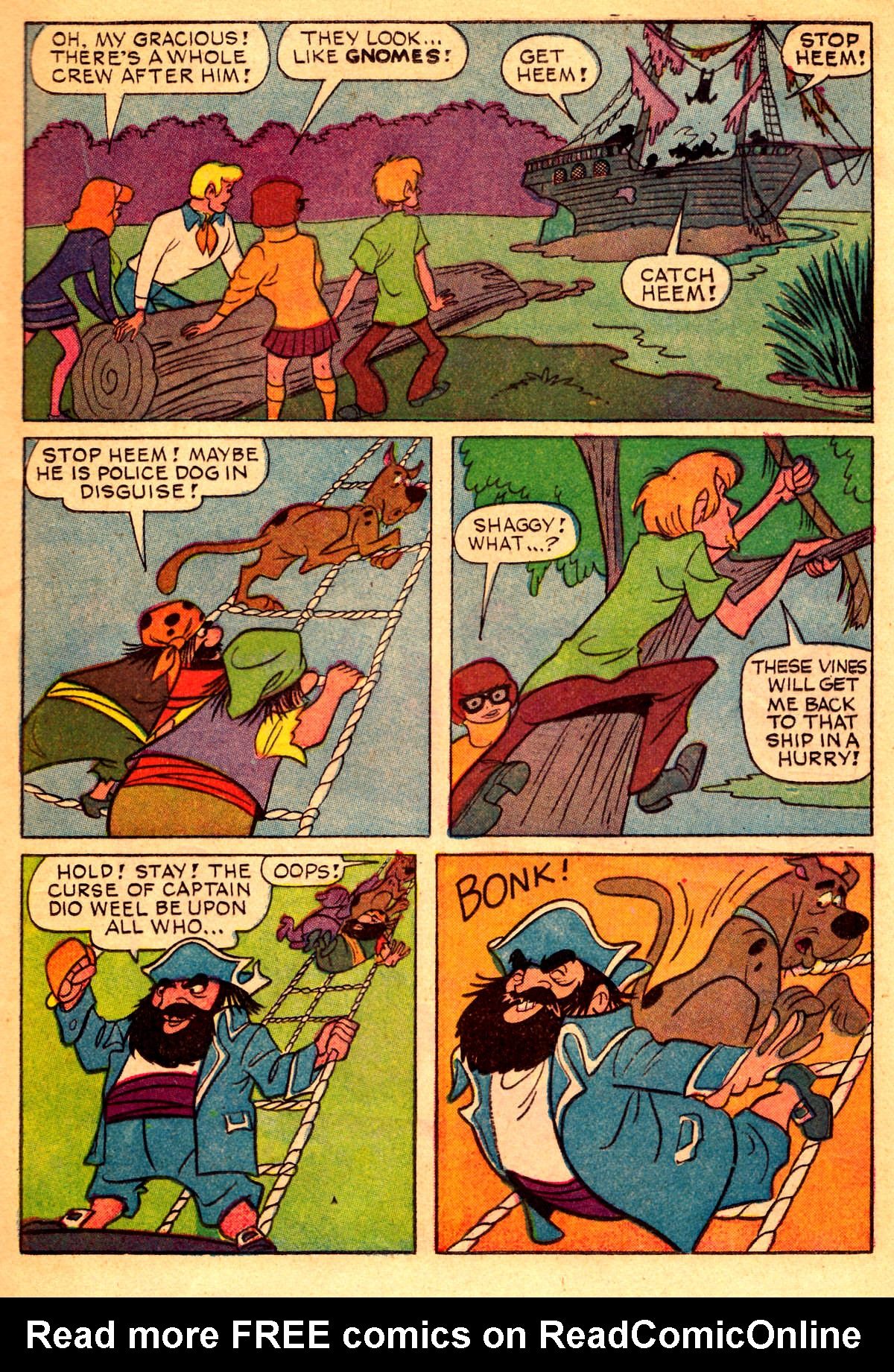 Read online Scooby-Doo... Where Are You! (1970) comic -  Issue #2 - 12