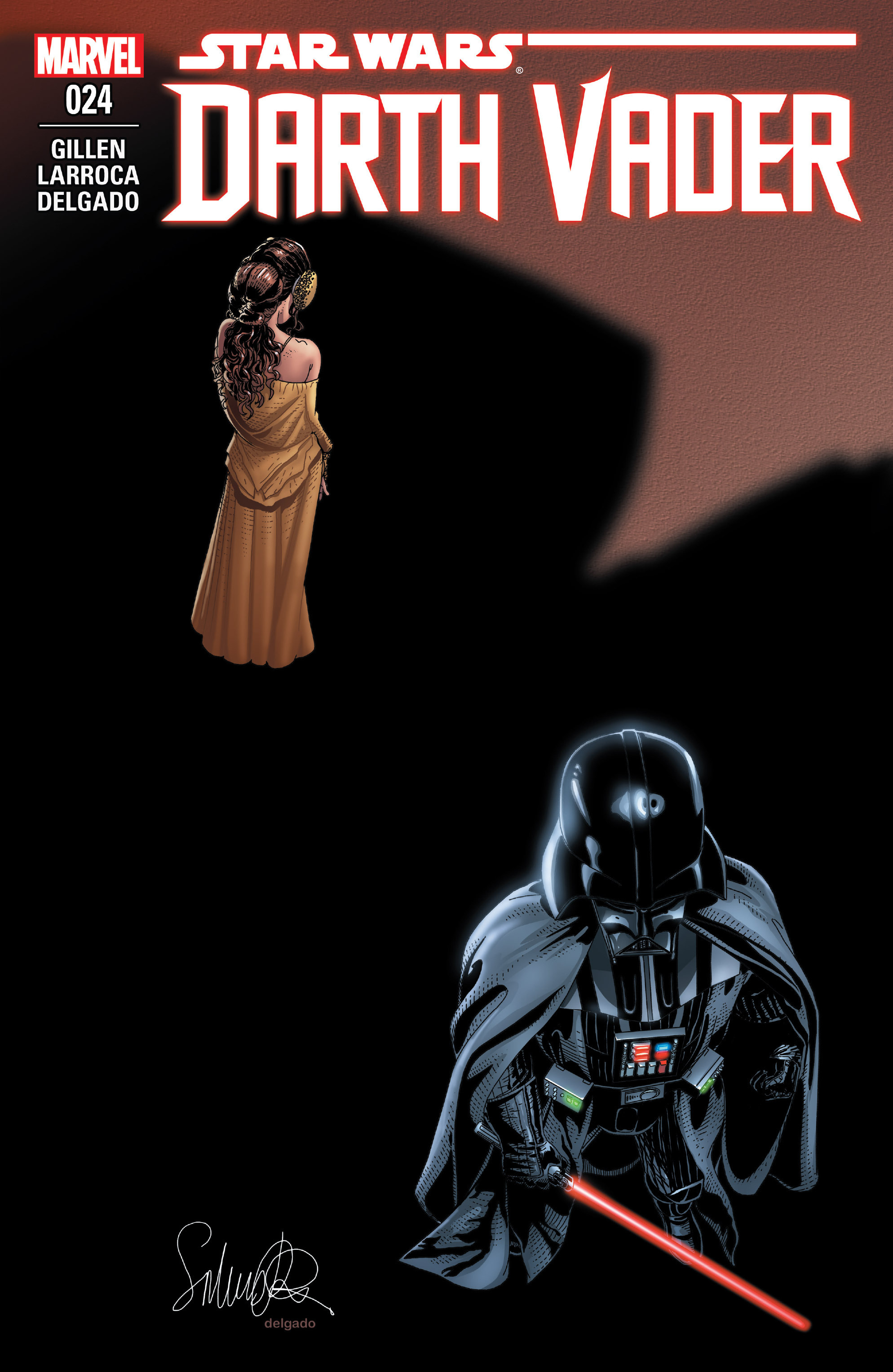 Read online Darth Vader comic -  Issue #24 - 1