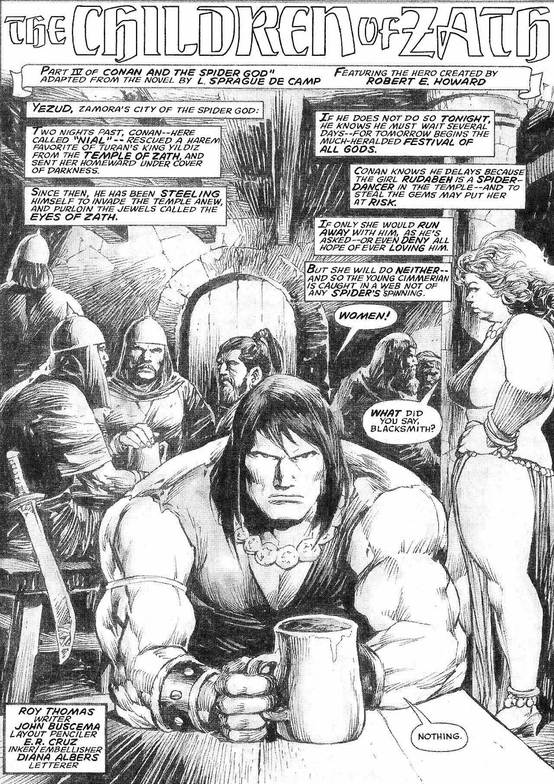 The Savage Sword Of Conan Issue #210 #211 - English 3