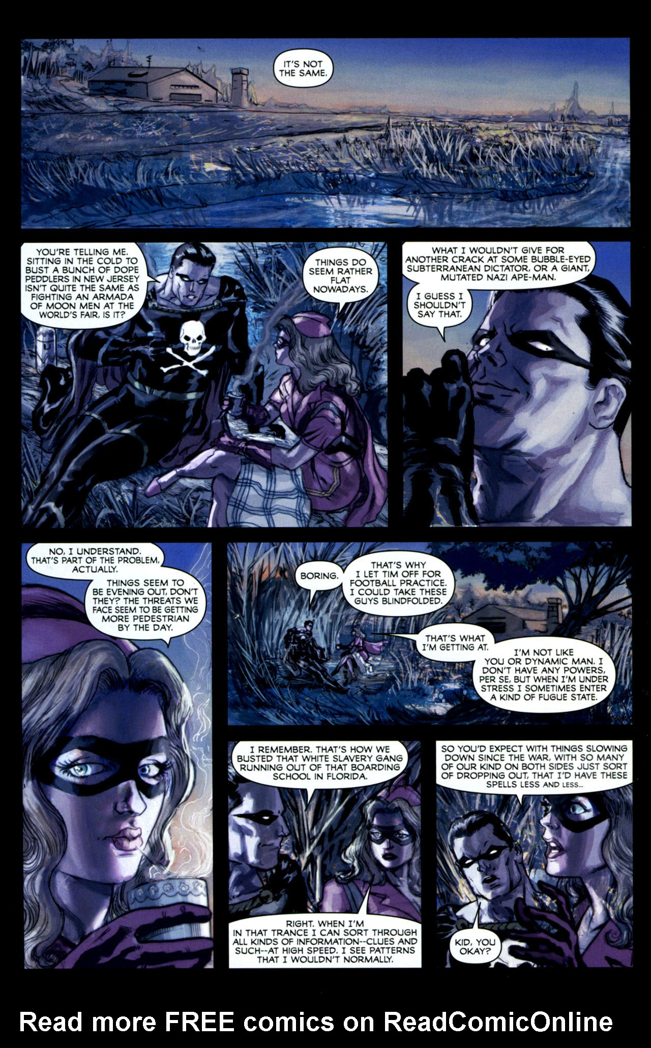 Read online Masquerade comic -  Issue #2 - 21